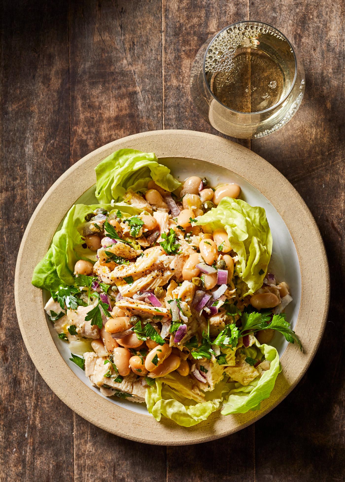 Tuna and White Bean Salad with Lemon