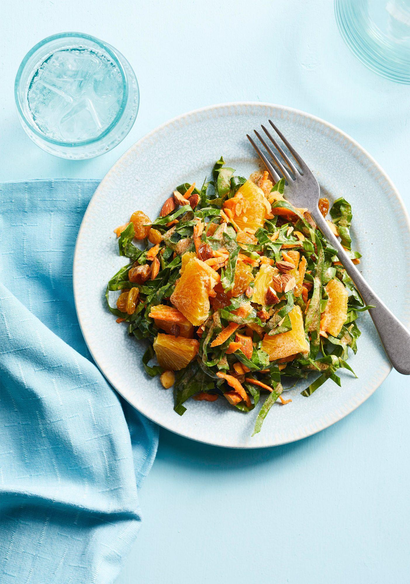 Moroccan-Style Collard Salad
