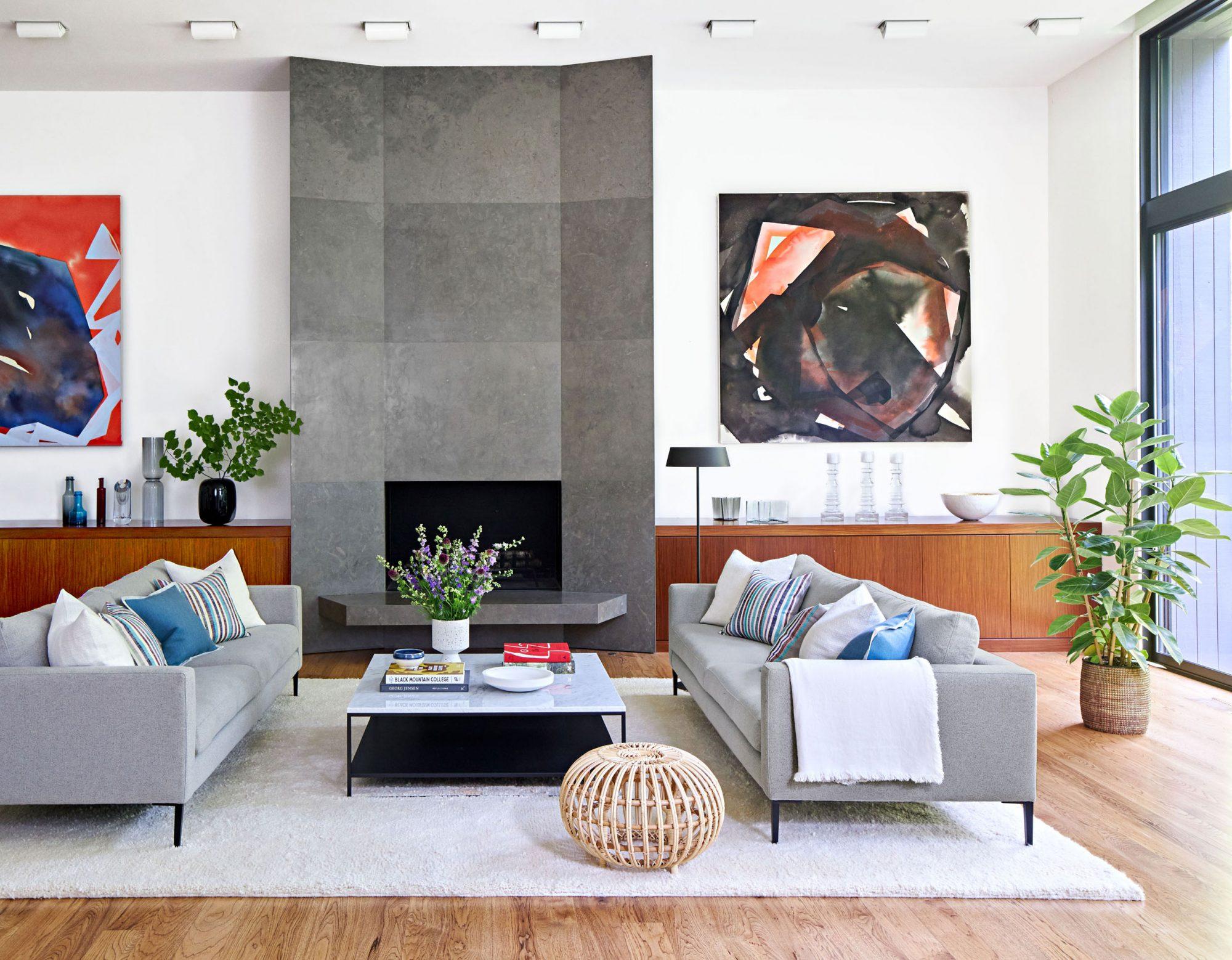Segal living room