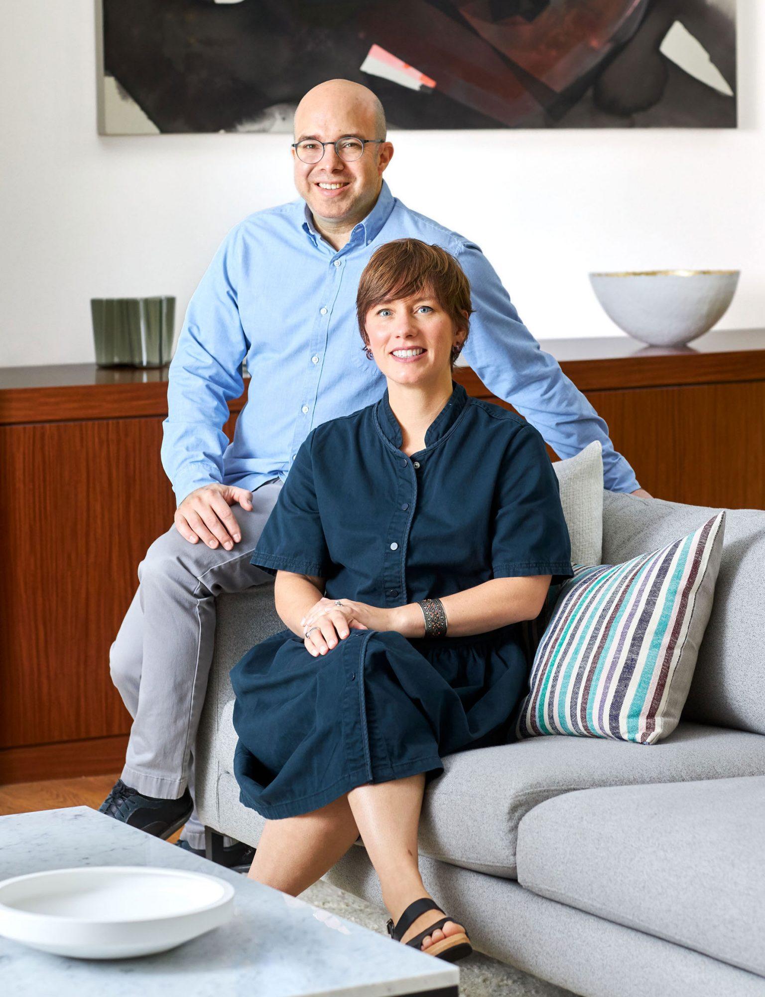 Alicia and Robert Segal