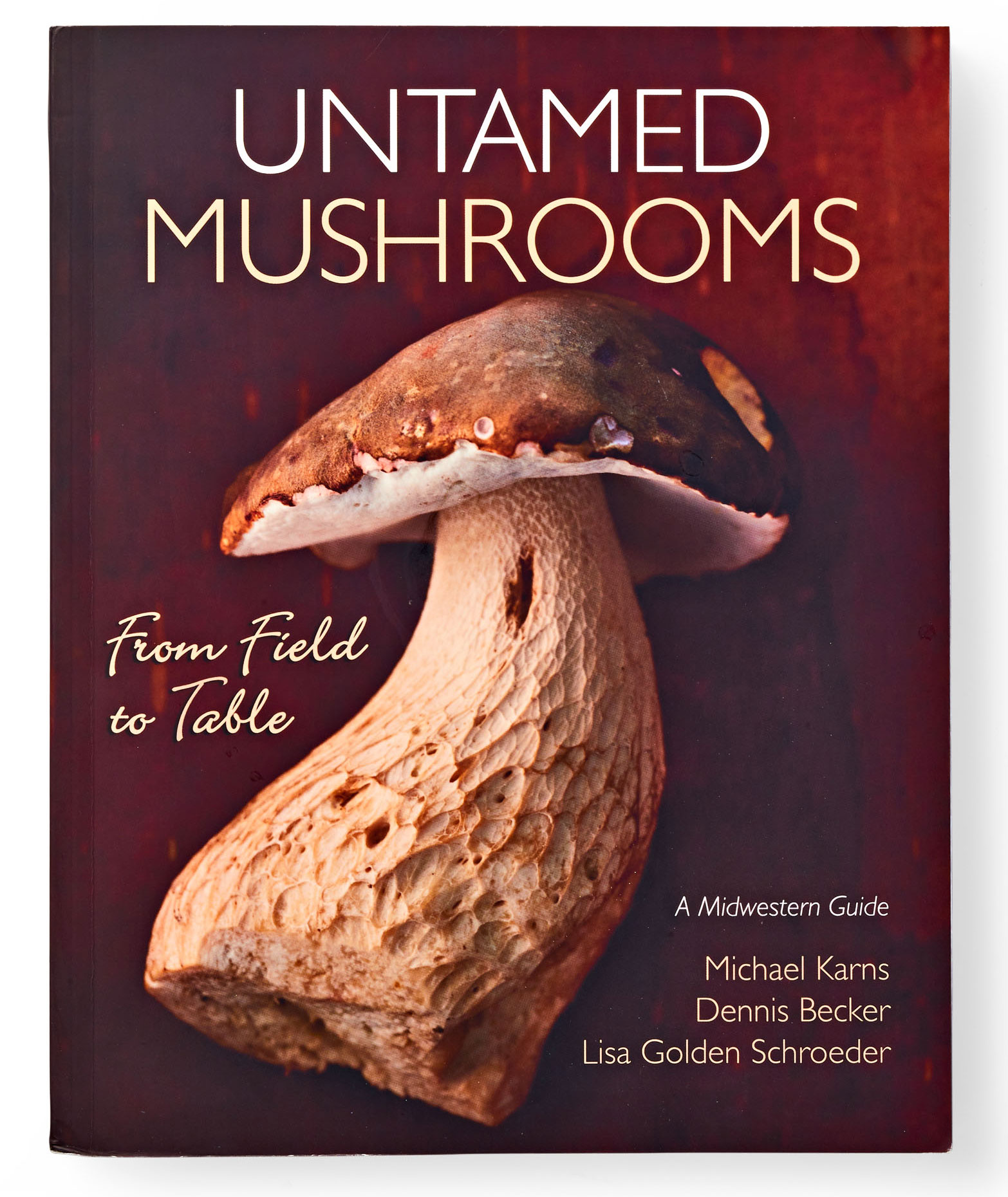 Untamed Mushrooms cookbook