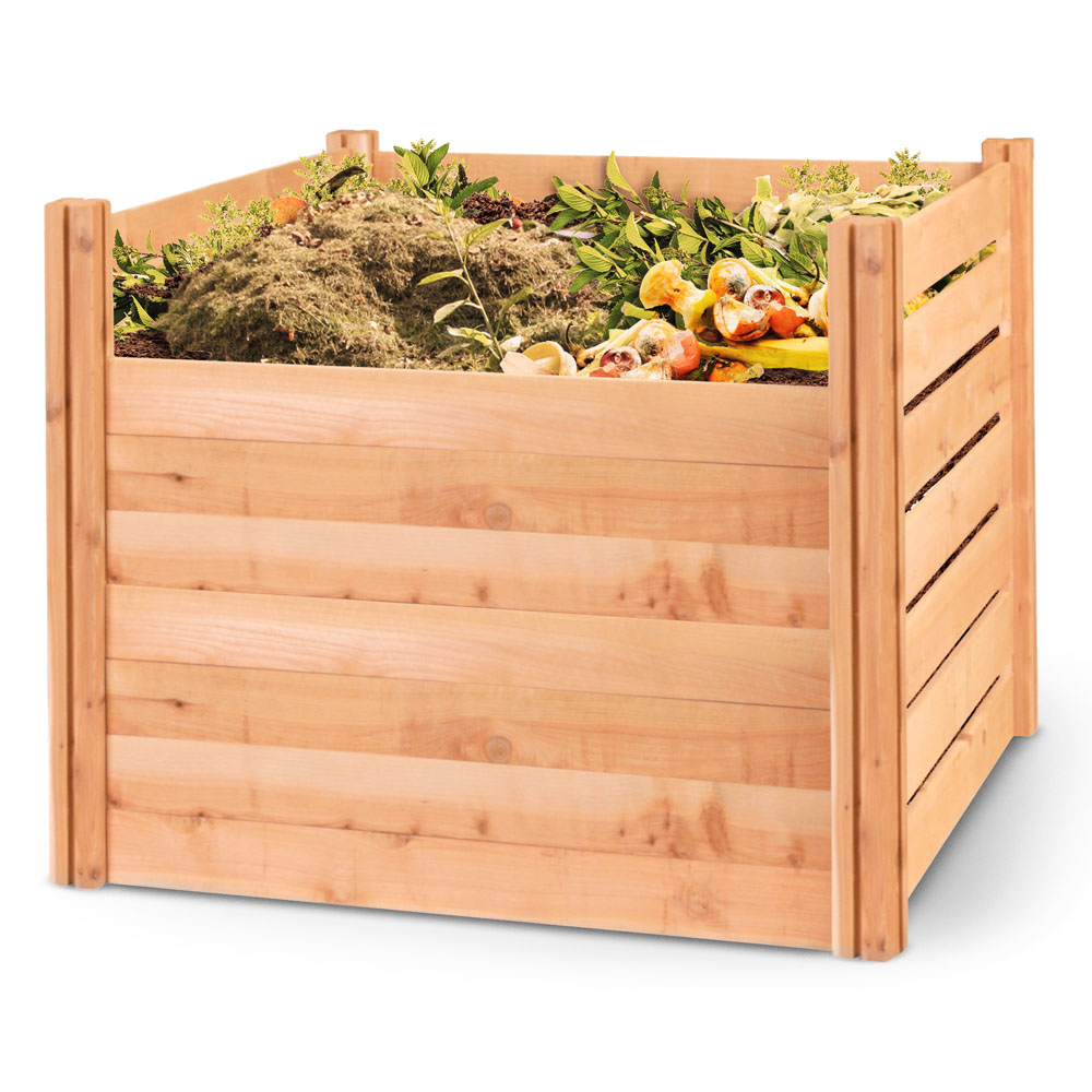 Greenes Fence Cedar Composter Bin