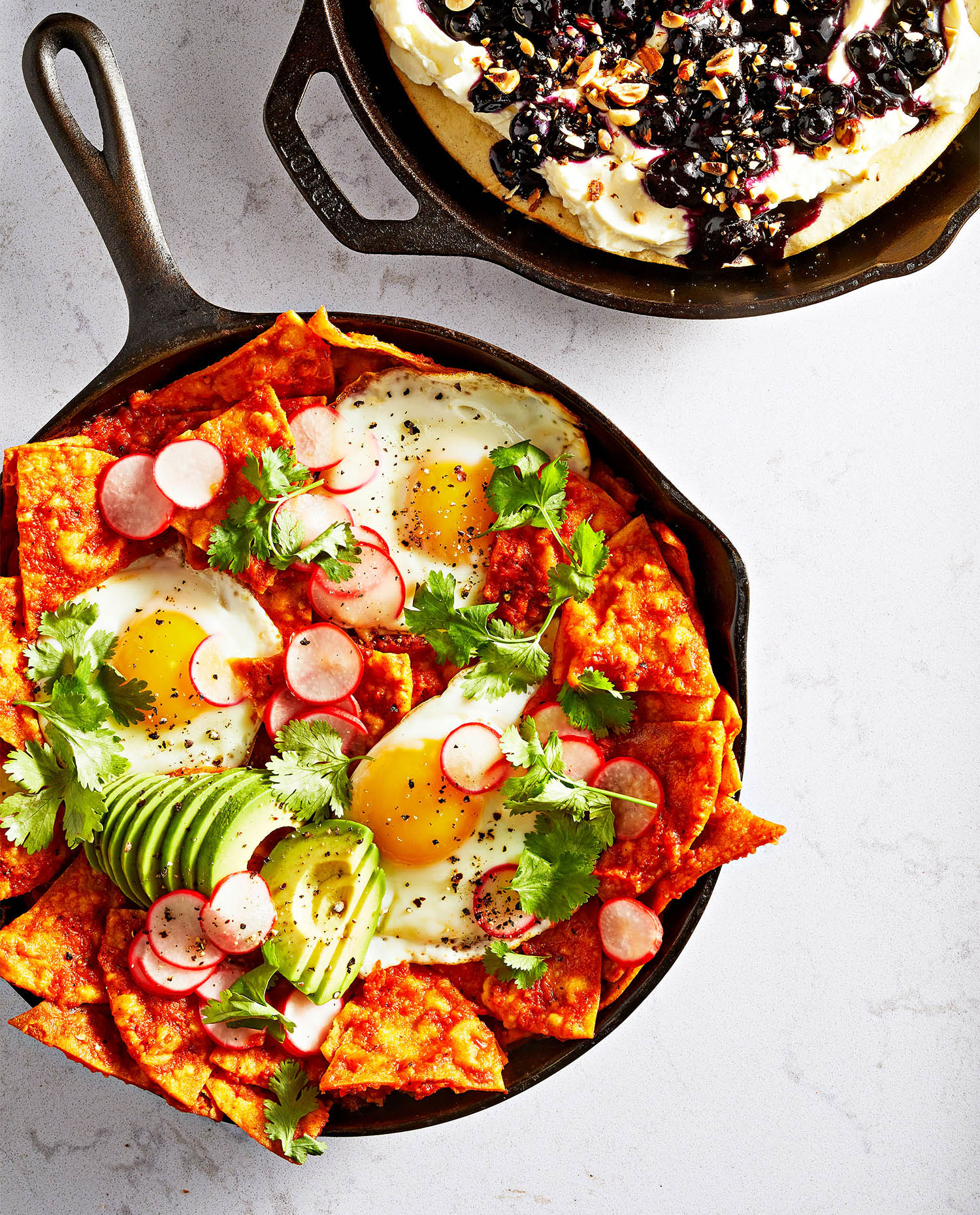Roasted Tomato Chilaquiles