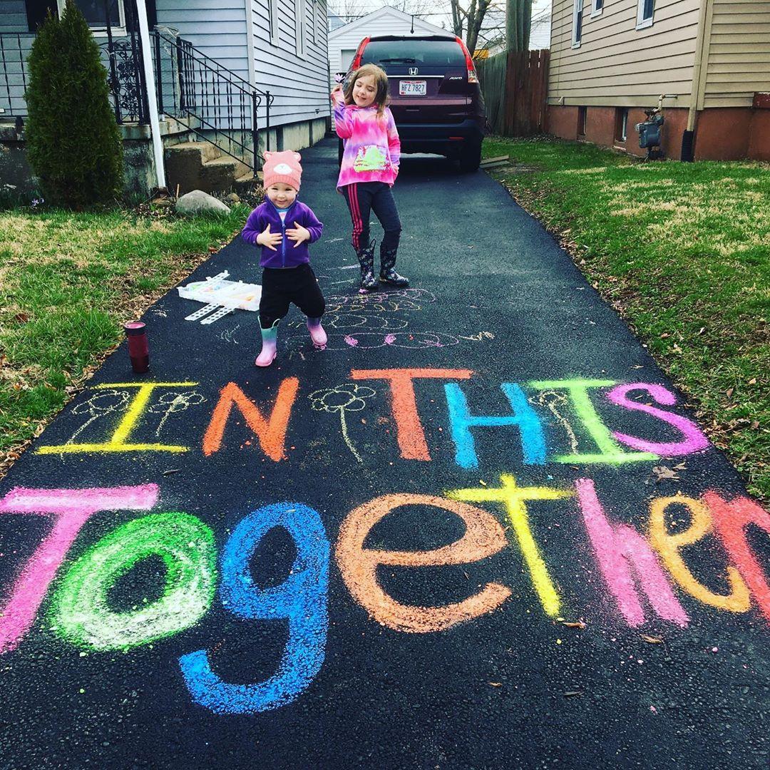 Chalk art Dayton Ohio