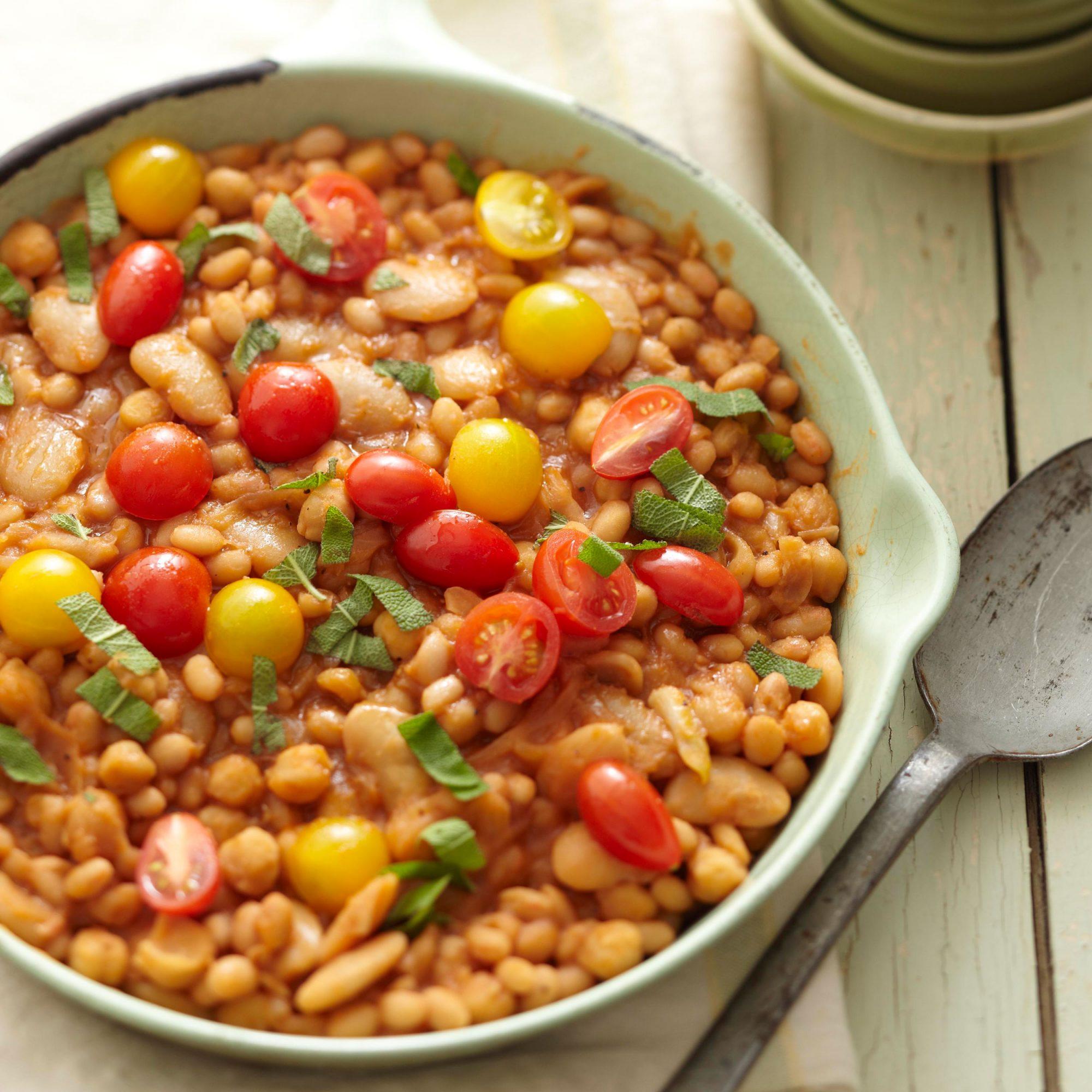 Skillet White Beans