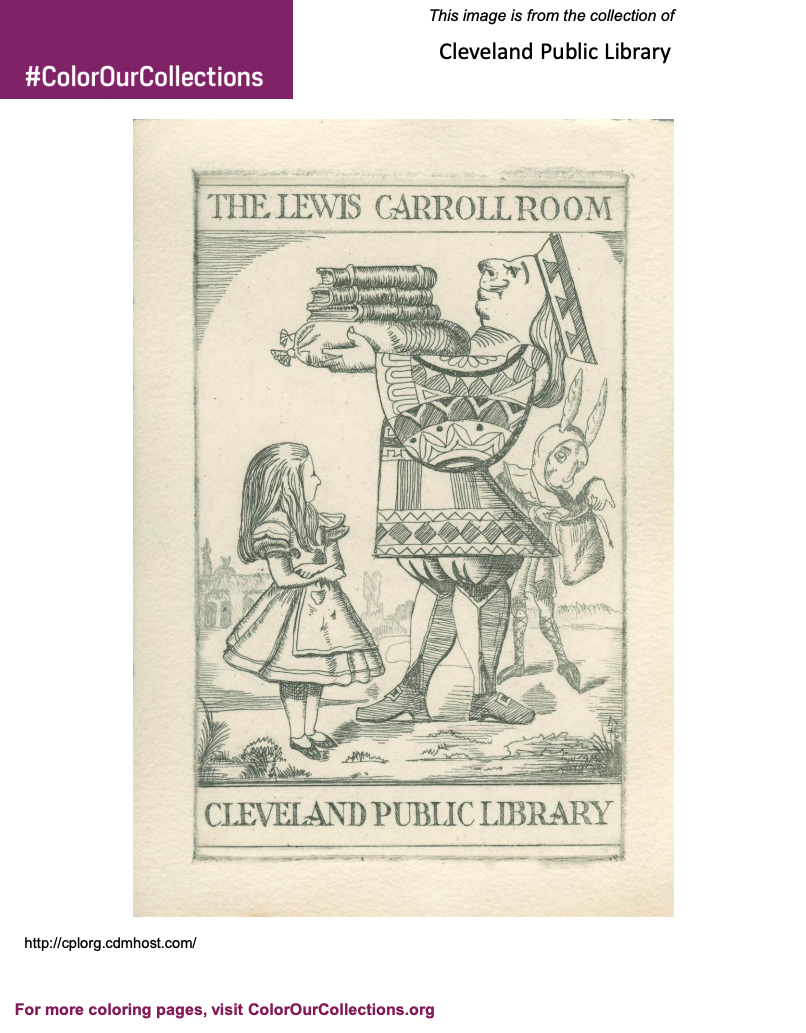Cleveland Public Library Lewis Carroll Room