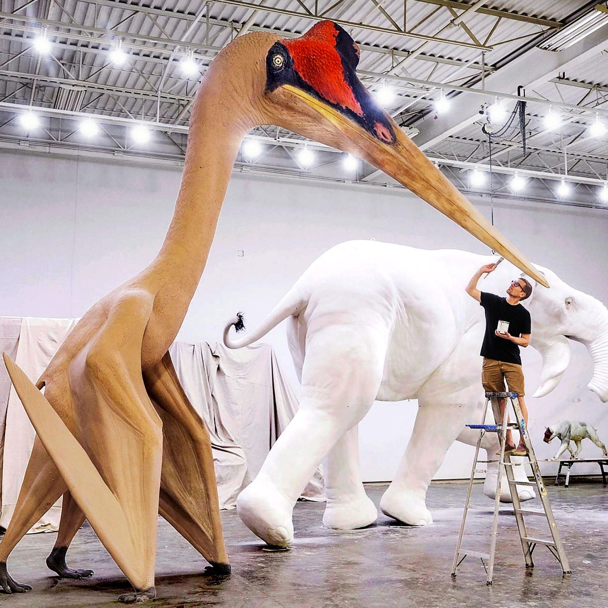 Apterosaur Blue Rhino Studio