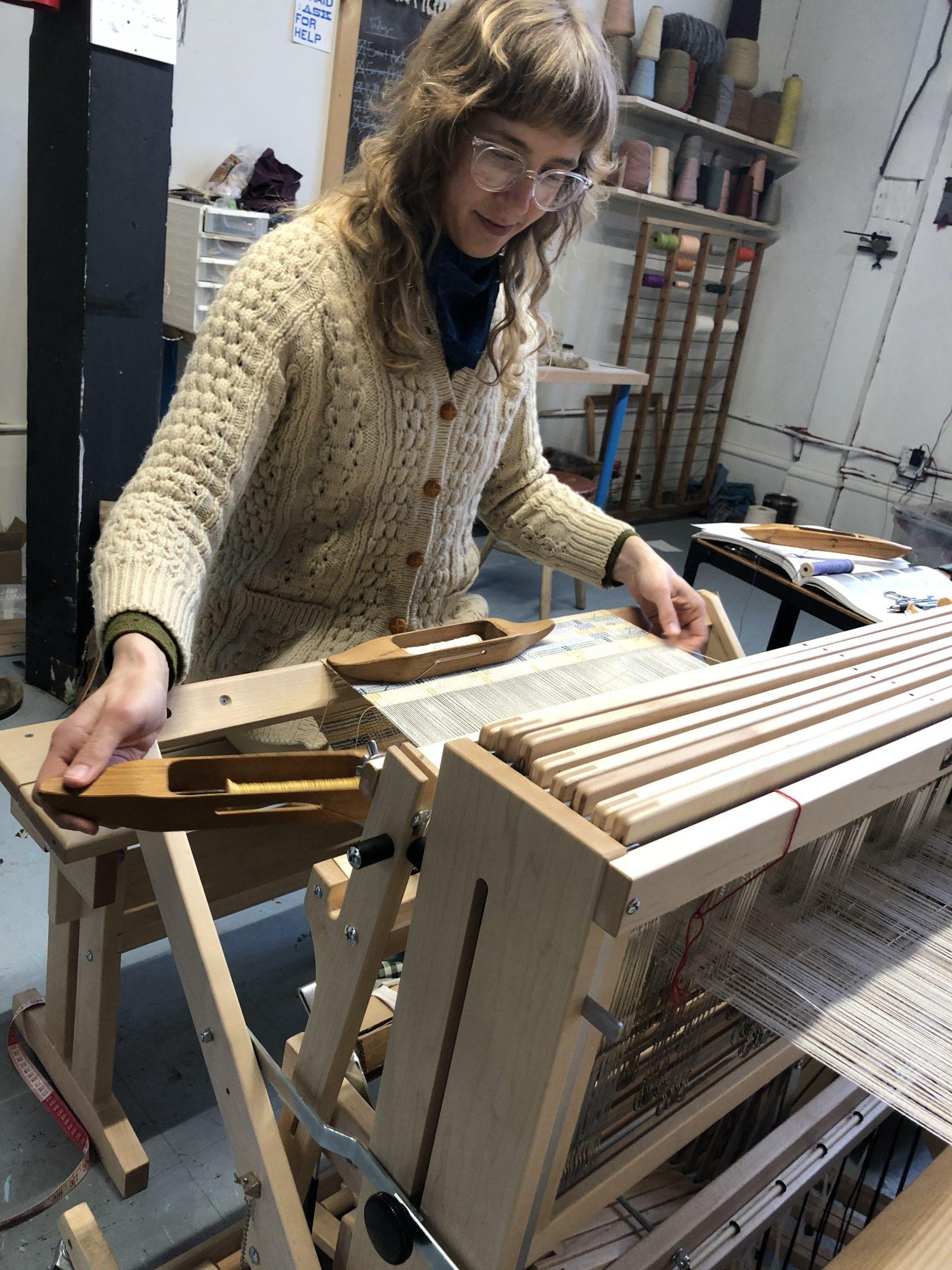 Christine Novotny Weaving