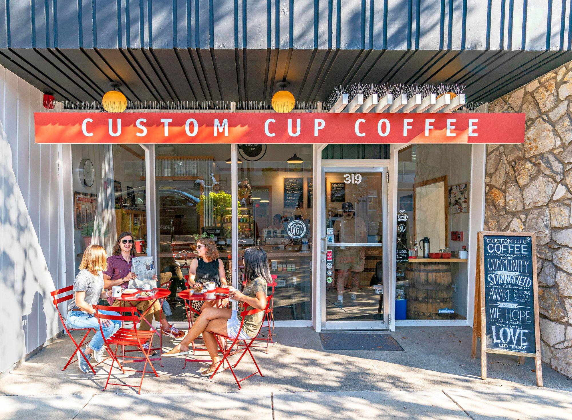 Custom Cup Coffee