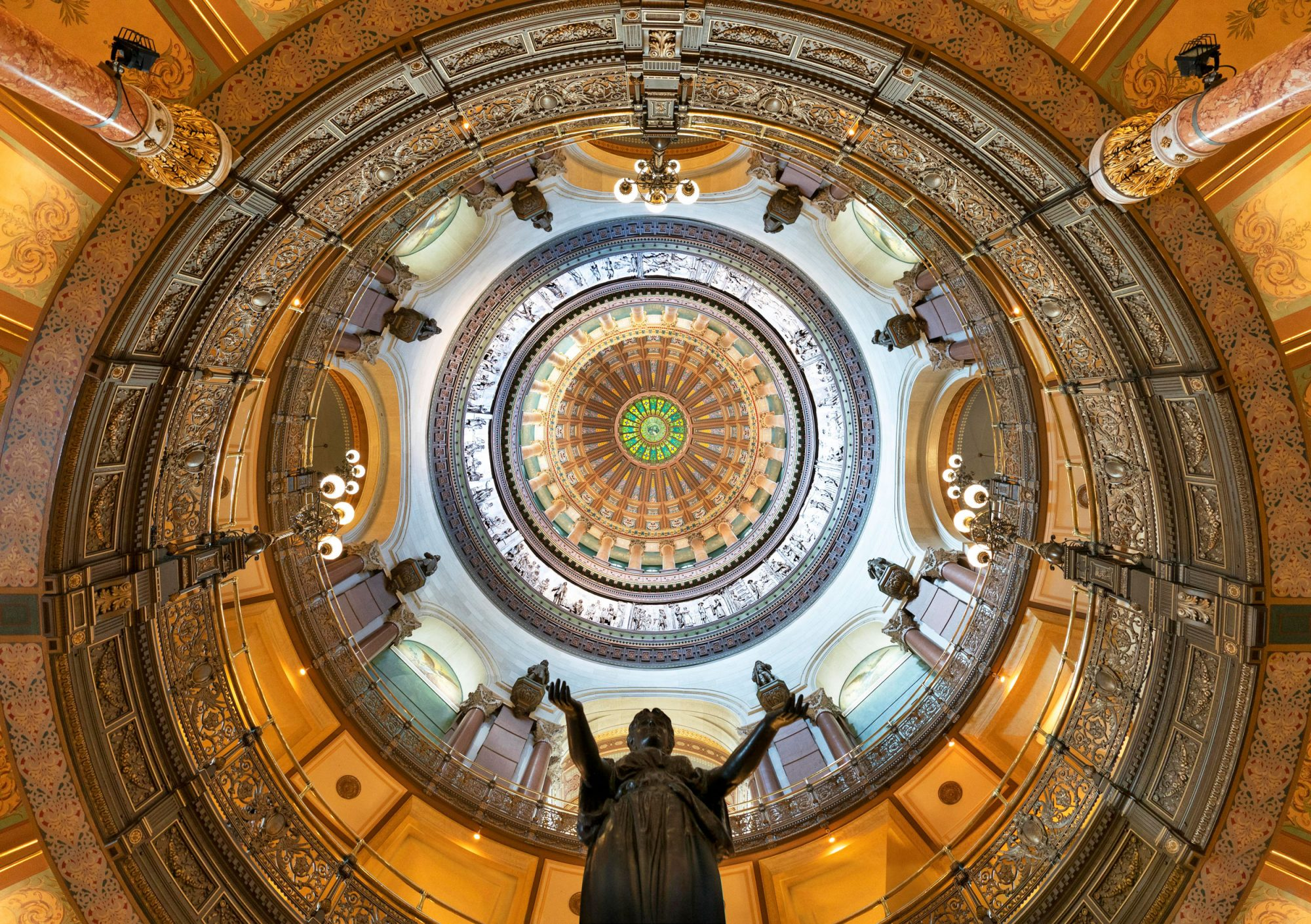 Illinois State Capitol, Springfield