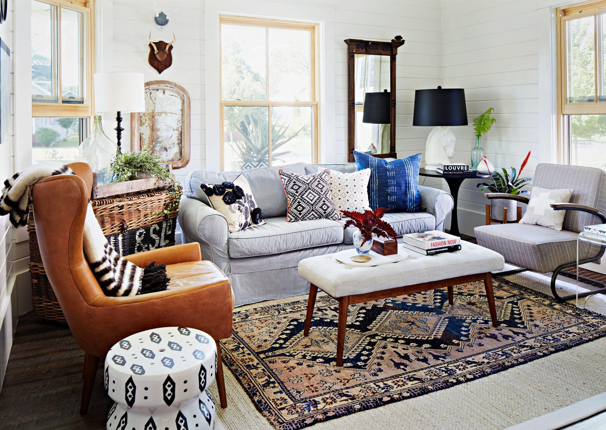 Boyles home living room