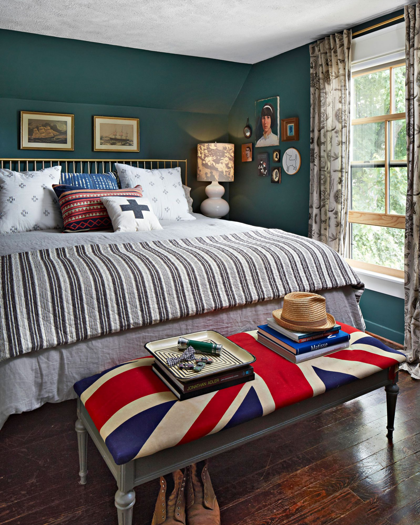 Master bedroom, Boyles home
