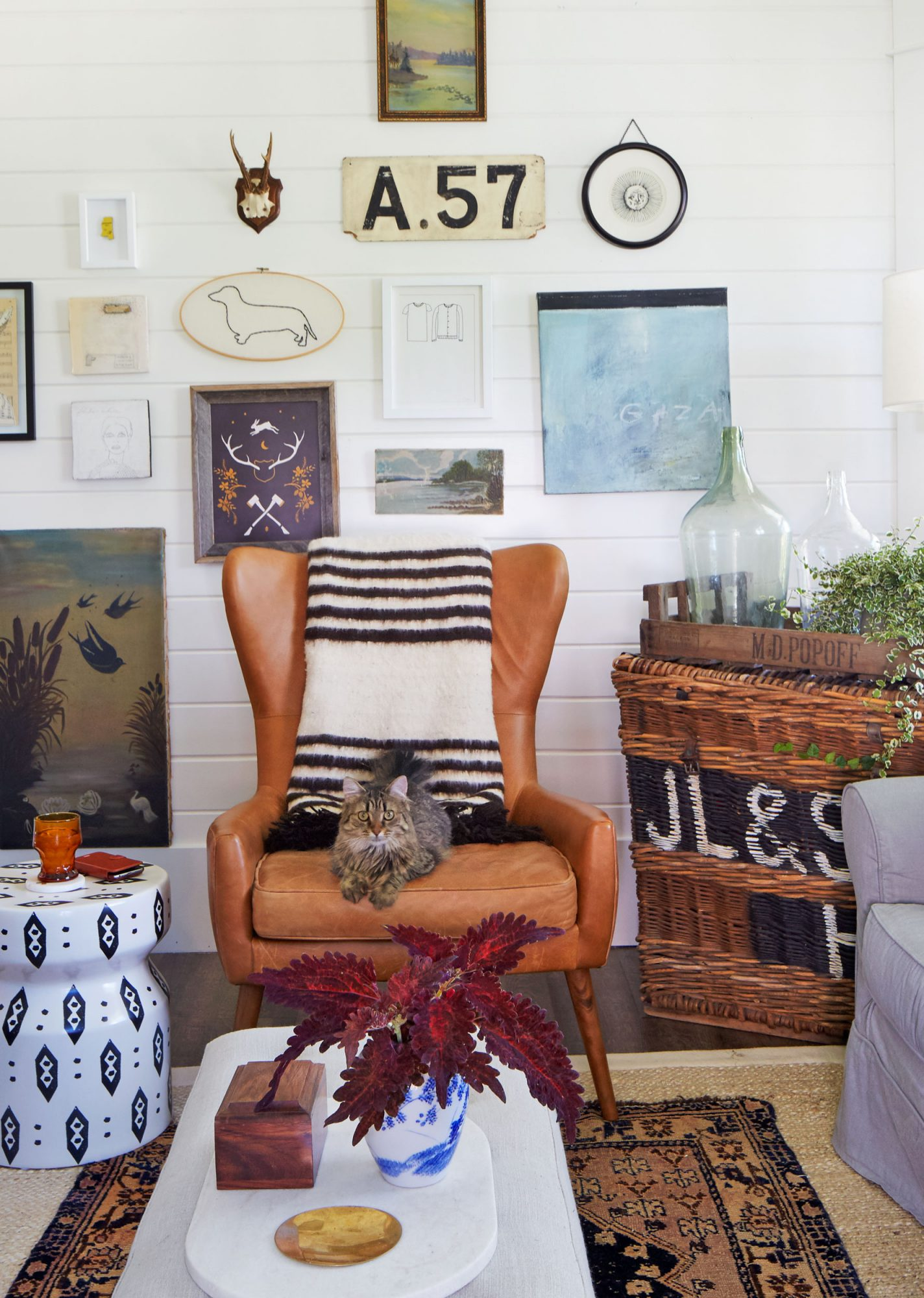 Living Room, Boyles home