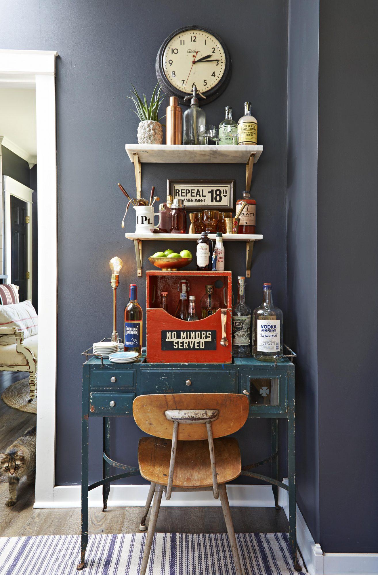 Bar Cart, Boyles home