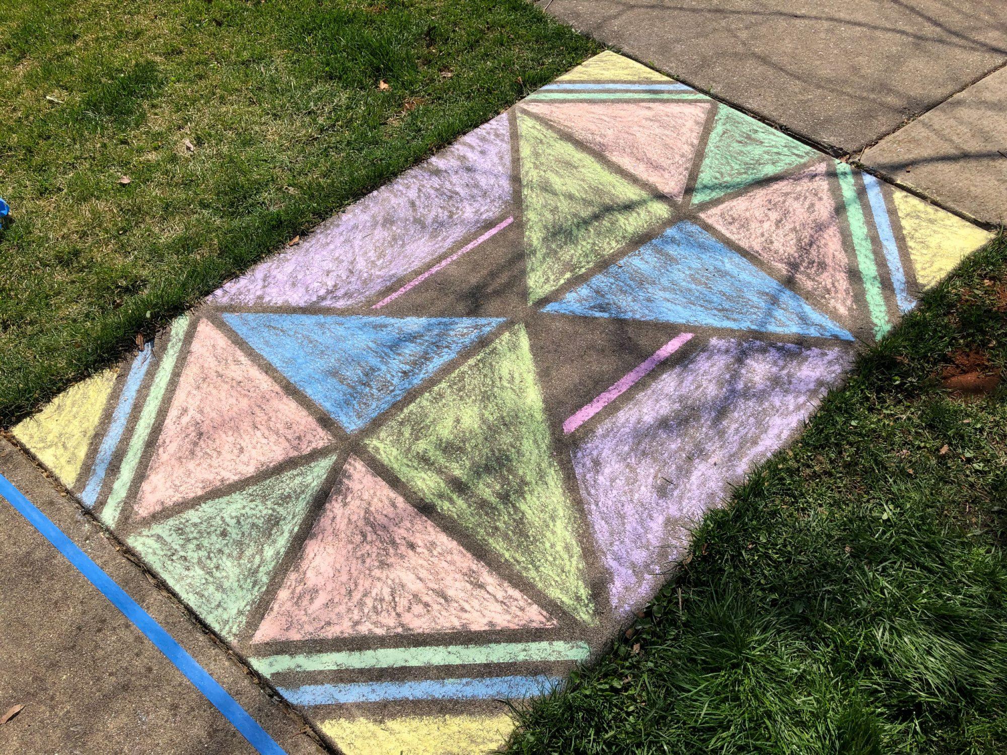 Art Glass Sidewalk