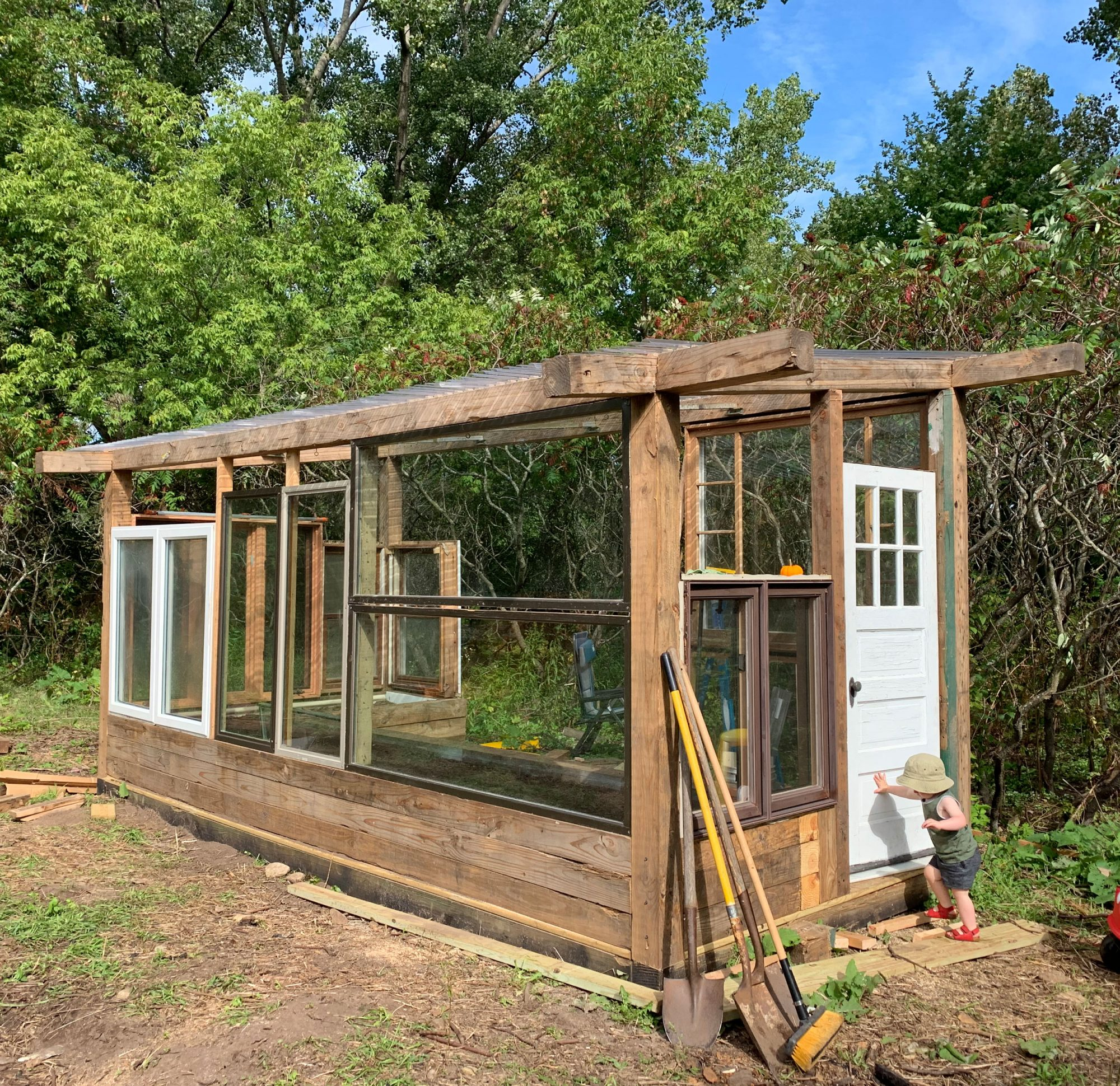 Kendra and Nate Collar greenhouse