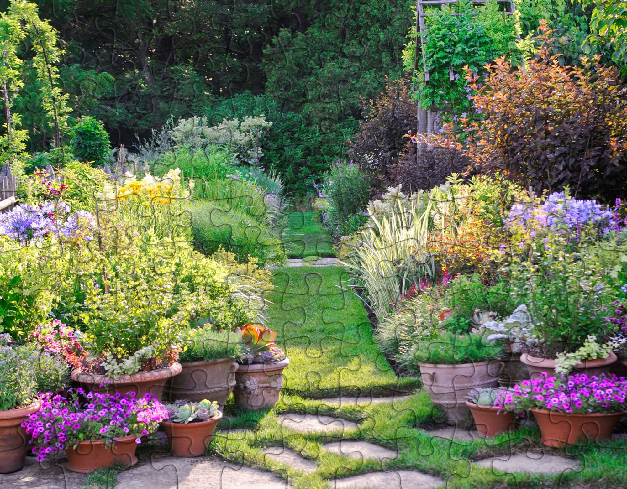 Illinois garden puzzle