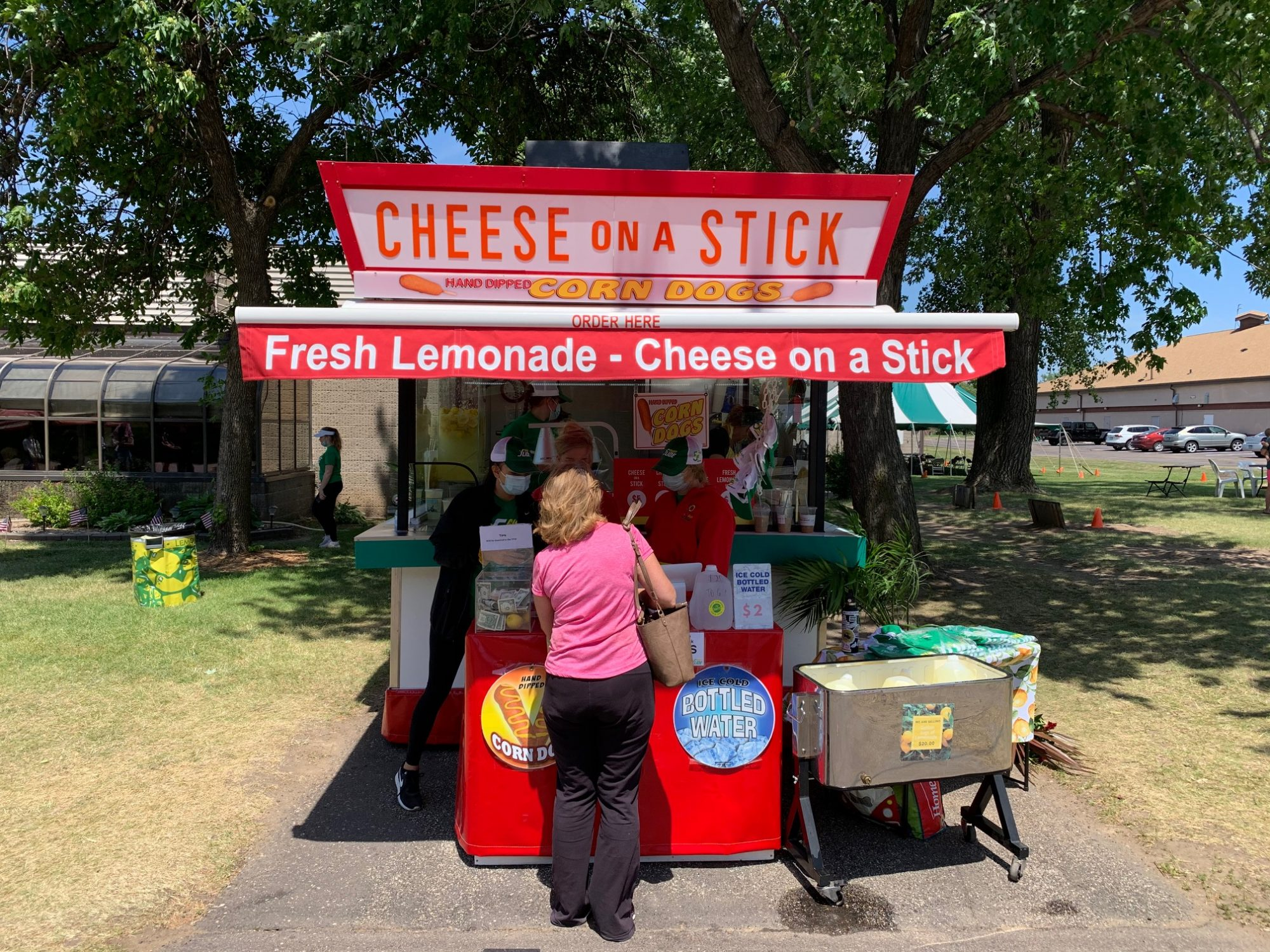 State fair food vendor