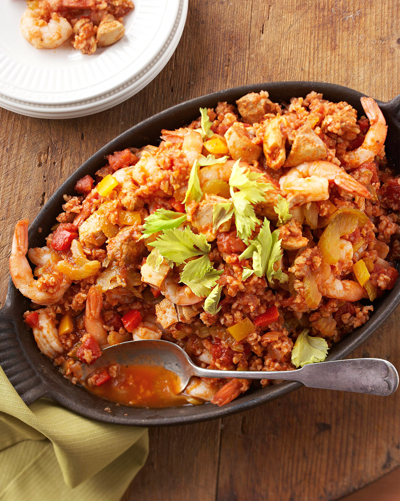 Chicken & Shrimp Jambalaya