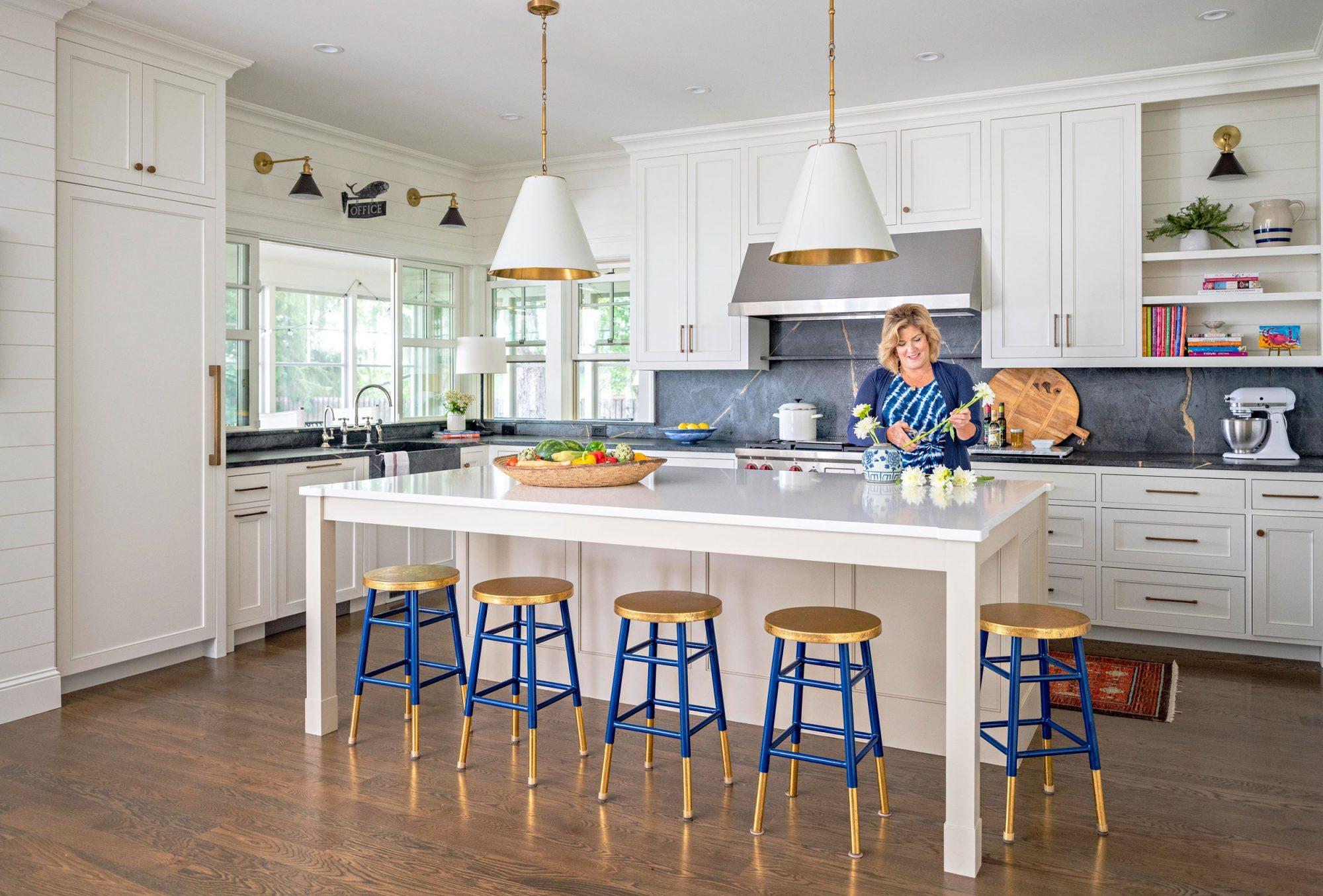 Bassett lake home kitchen