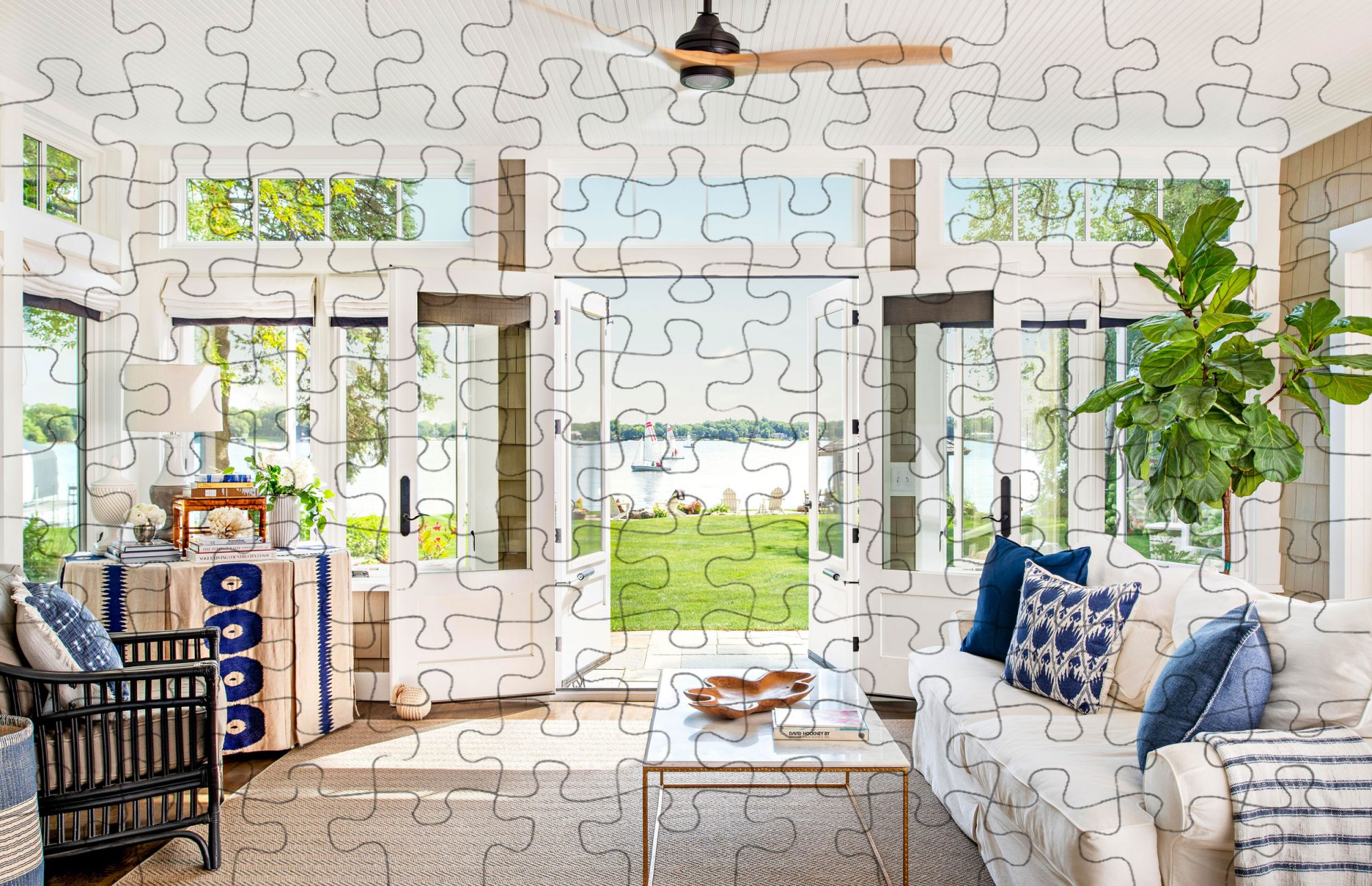 Digital jigsaw puzzle