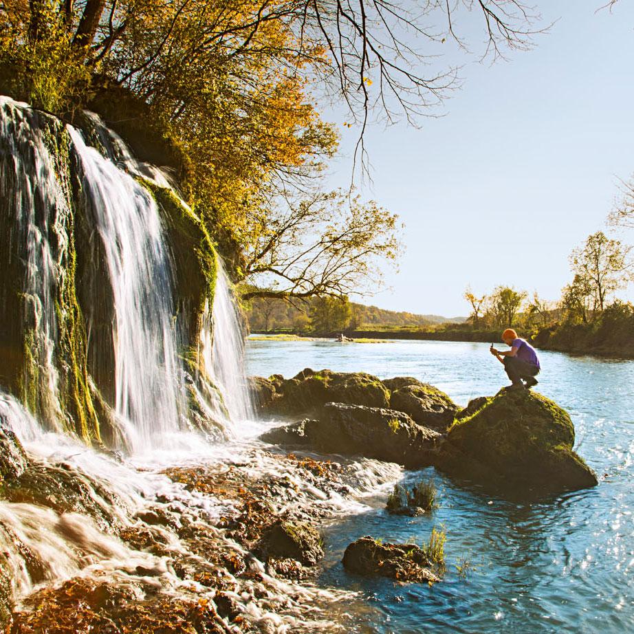 Decorah waterfall