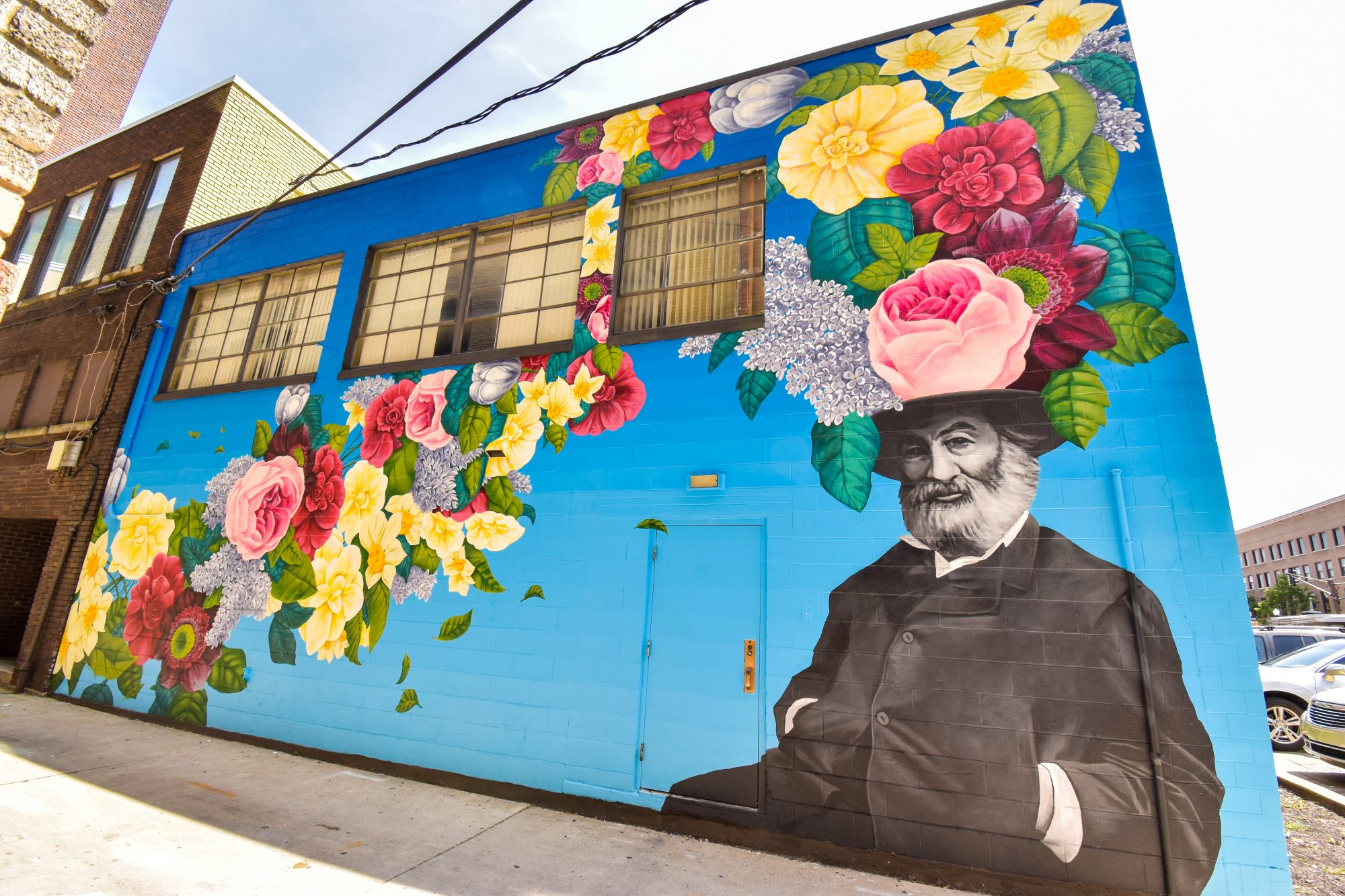 Walt Whitman Mural, Fort Wayne, Indiana