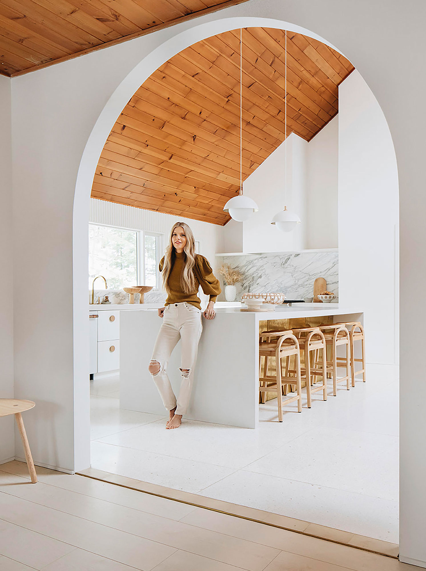 Designer and homeowner Sarah Sherman Samuel