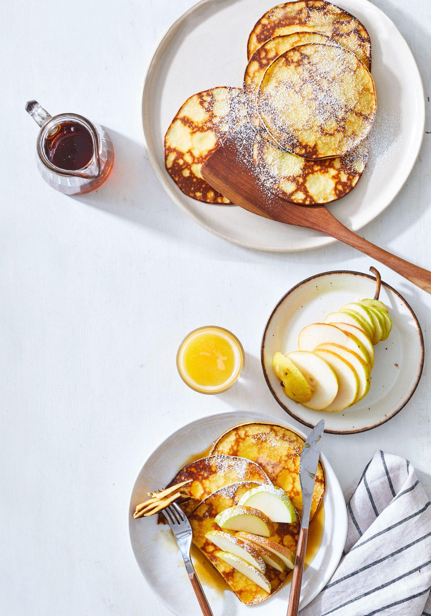 Lemon-Ricotta Hotcakes