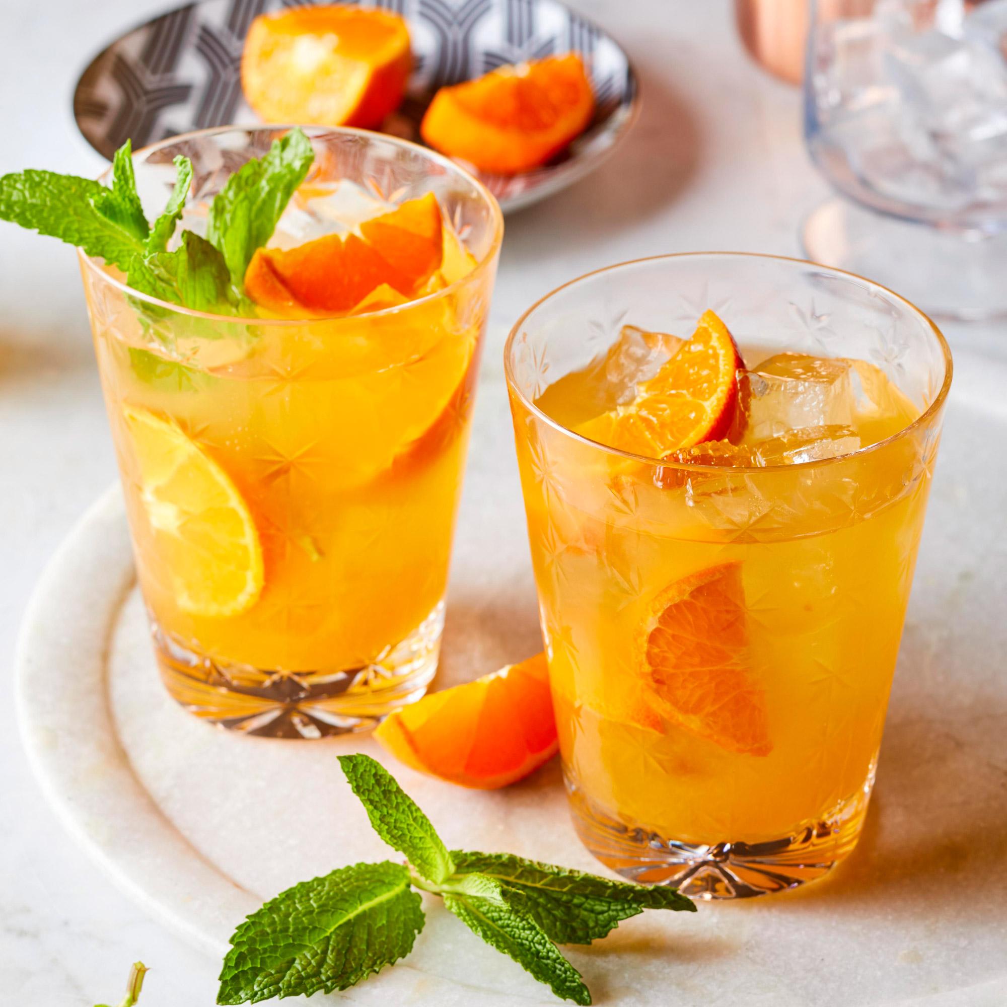 Clementine Bourbon Smash
