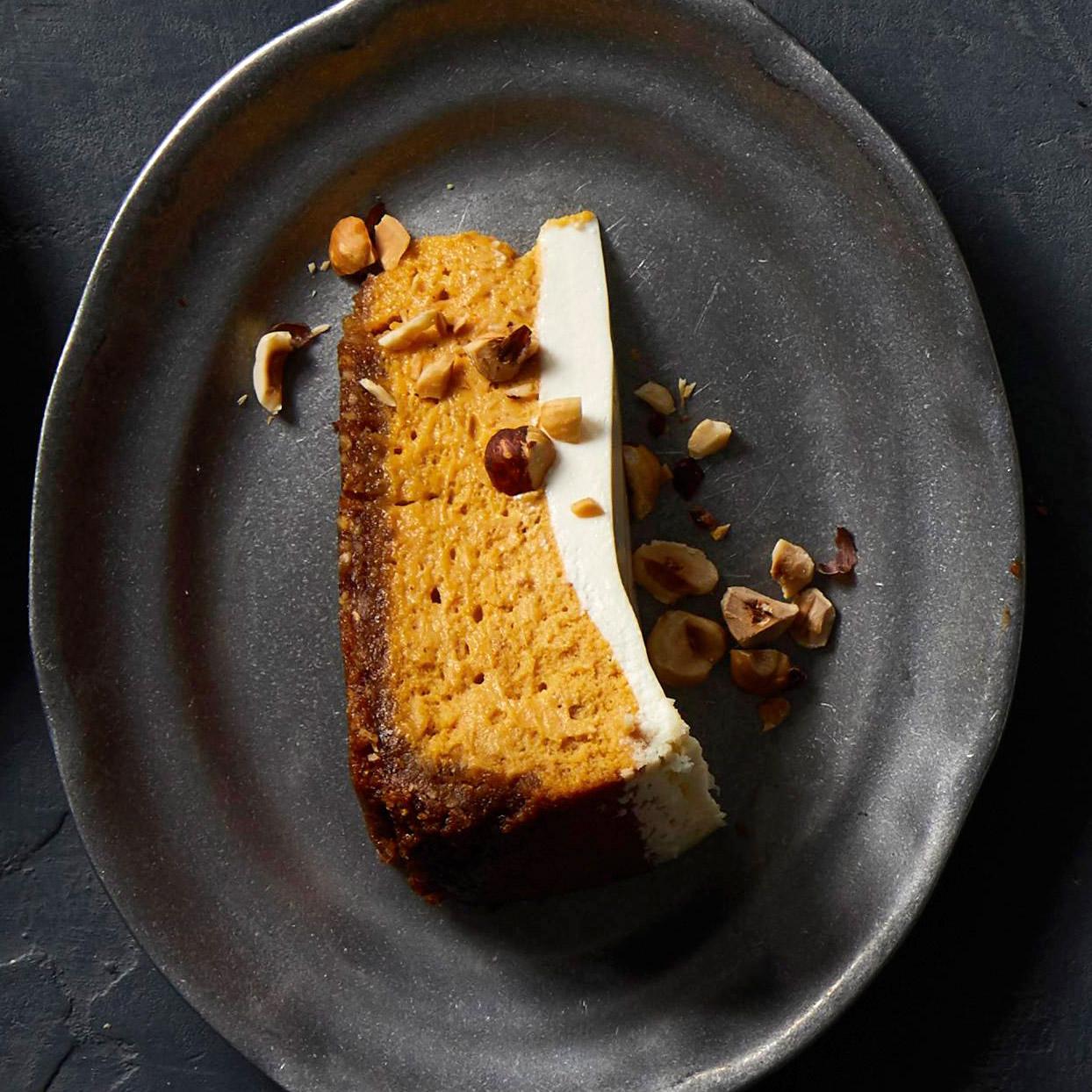 Hazelnut Pumpkin Cheesecake