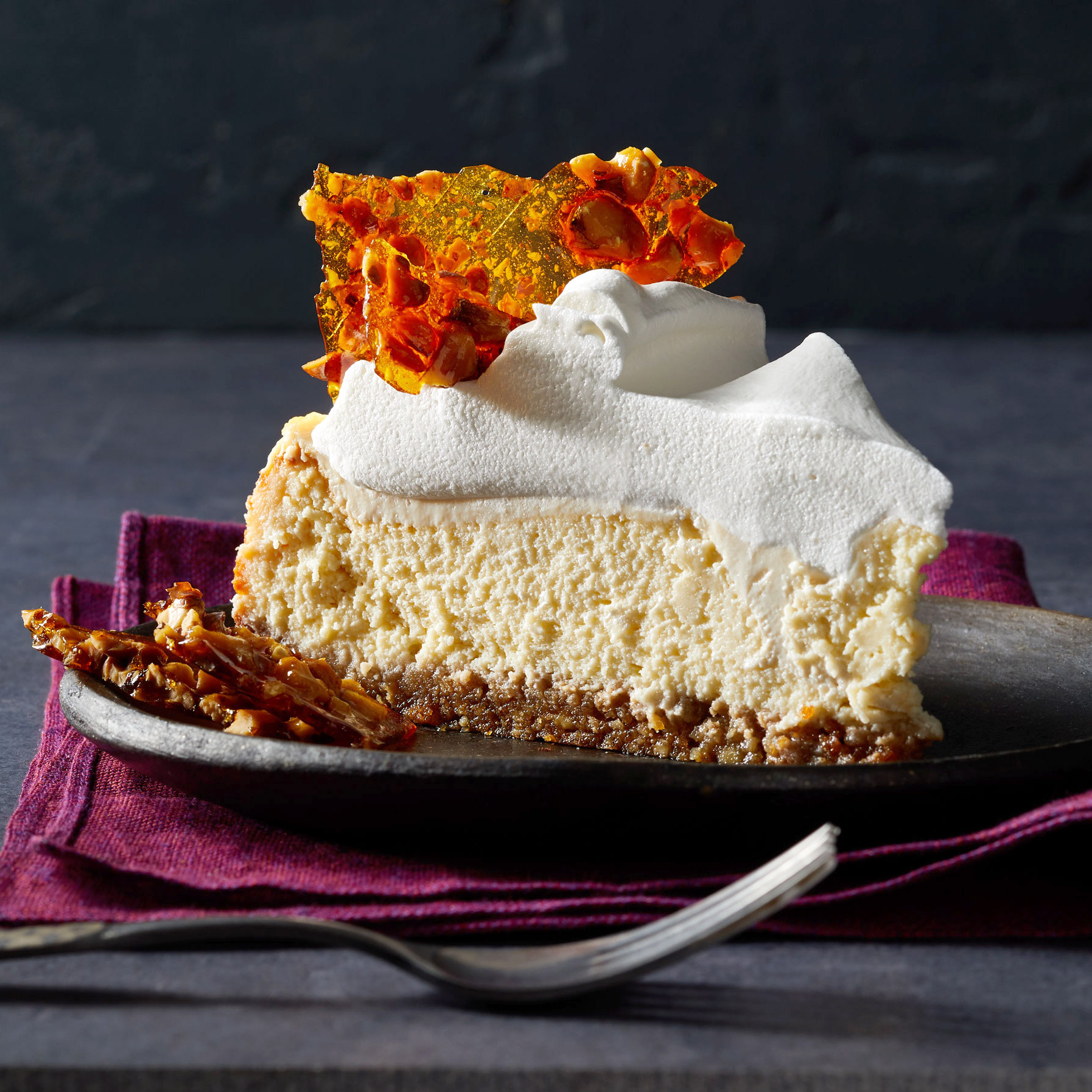 Maple Mascarpone Cheesecake