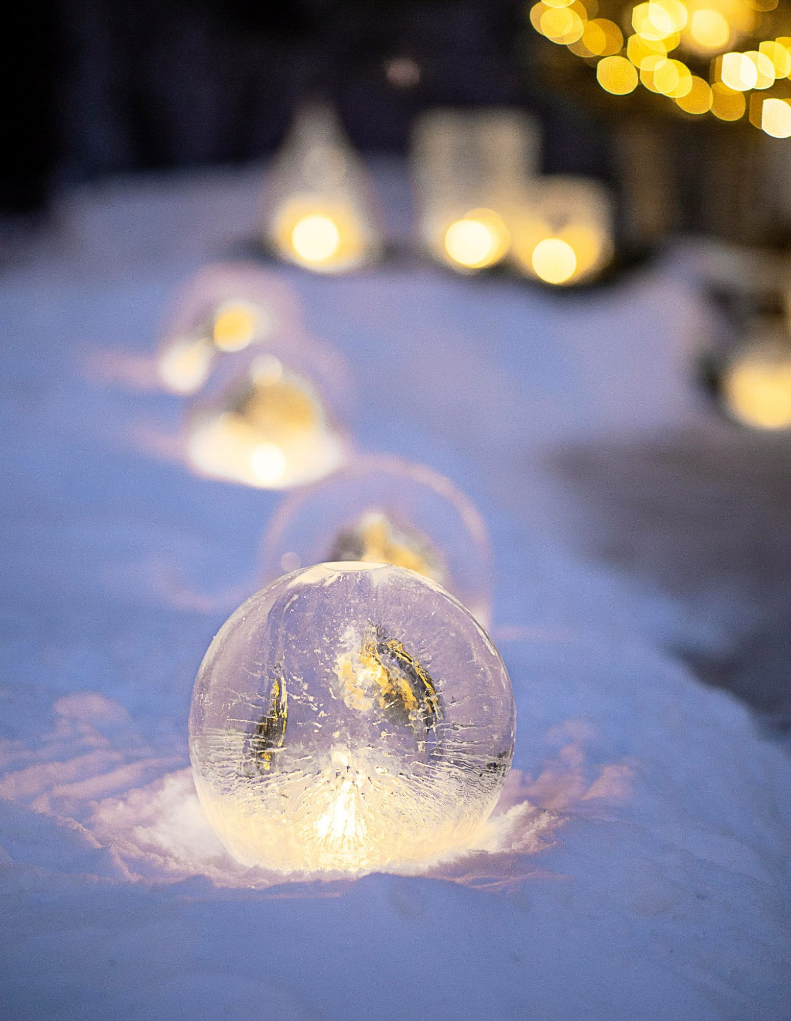 Ice luminaria