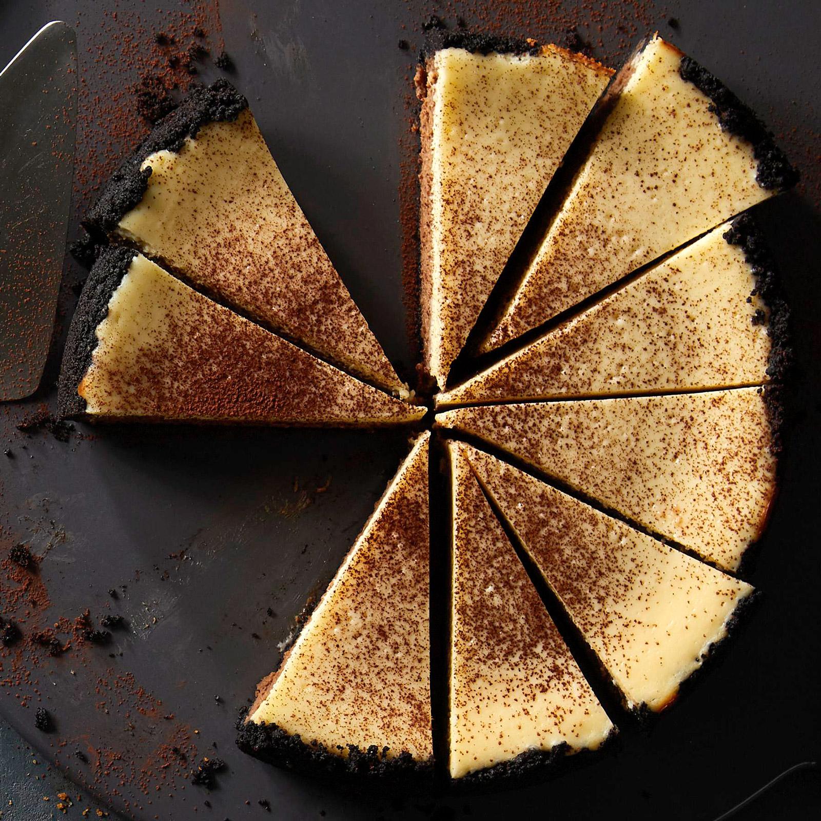 Cafe Mocha Cheesecake