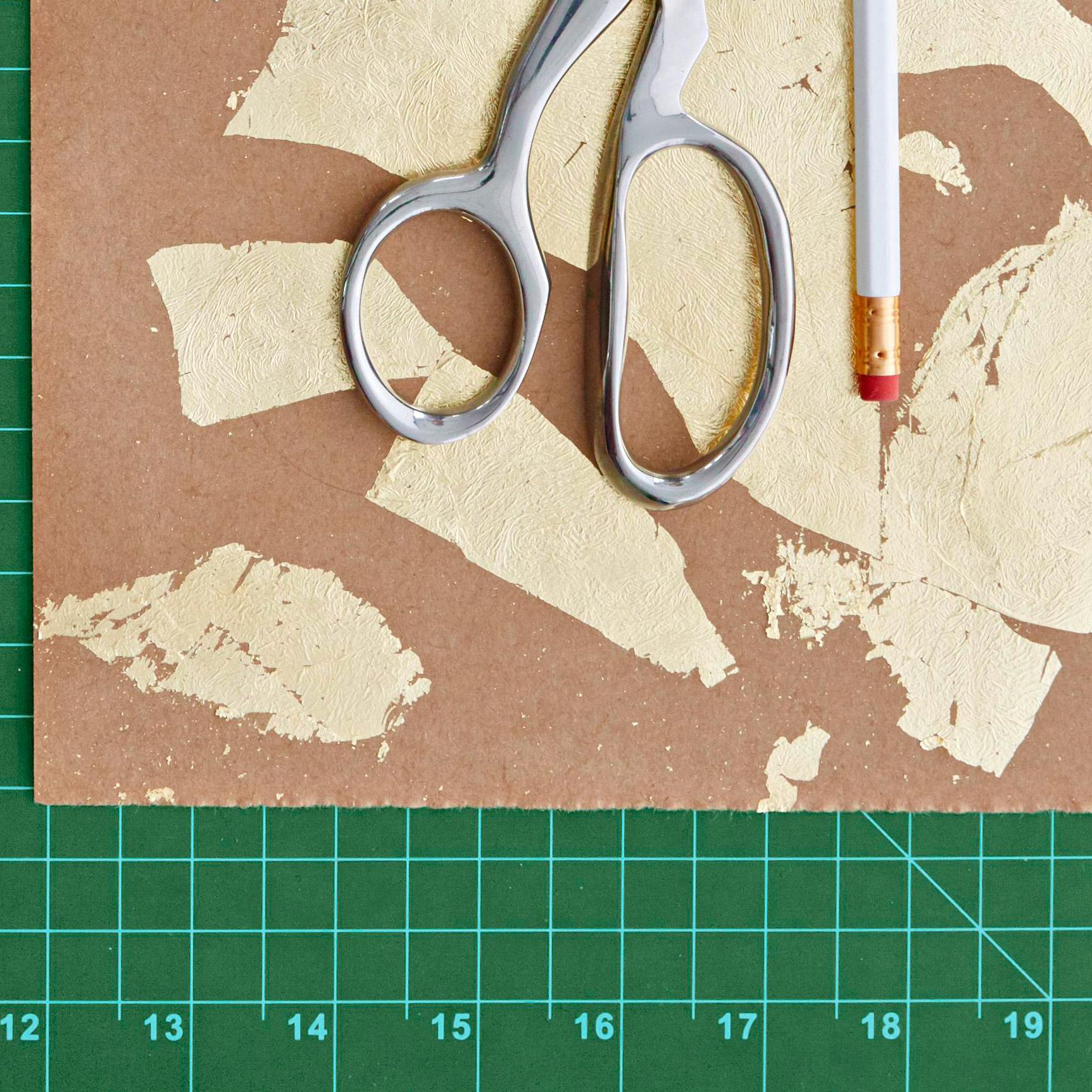 Gold-leaf paper