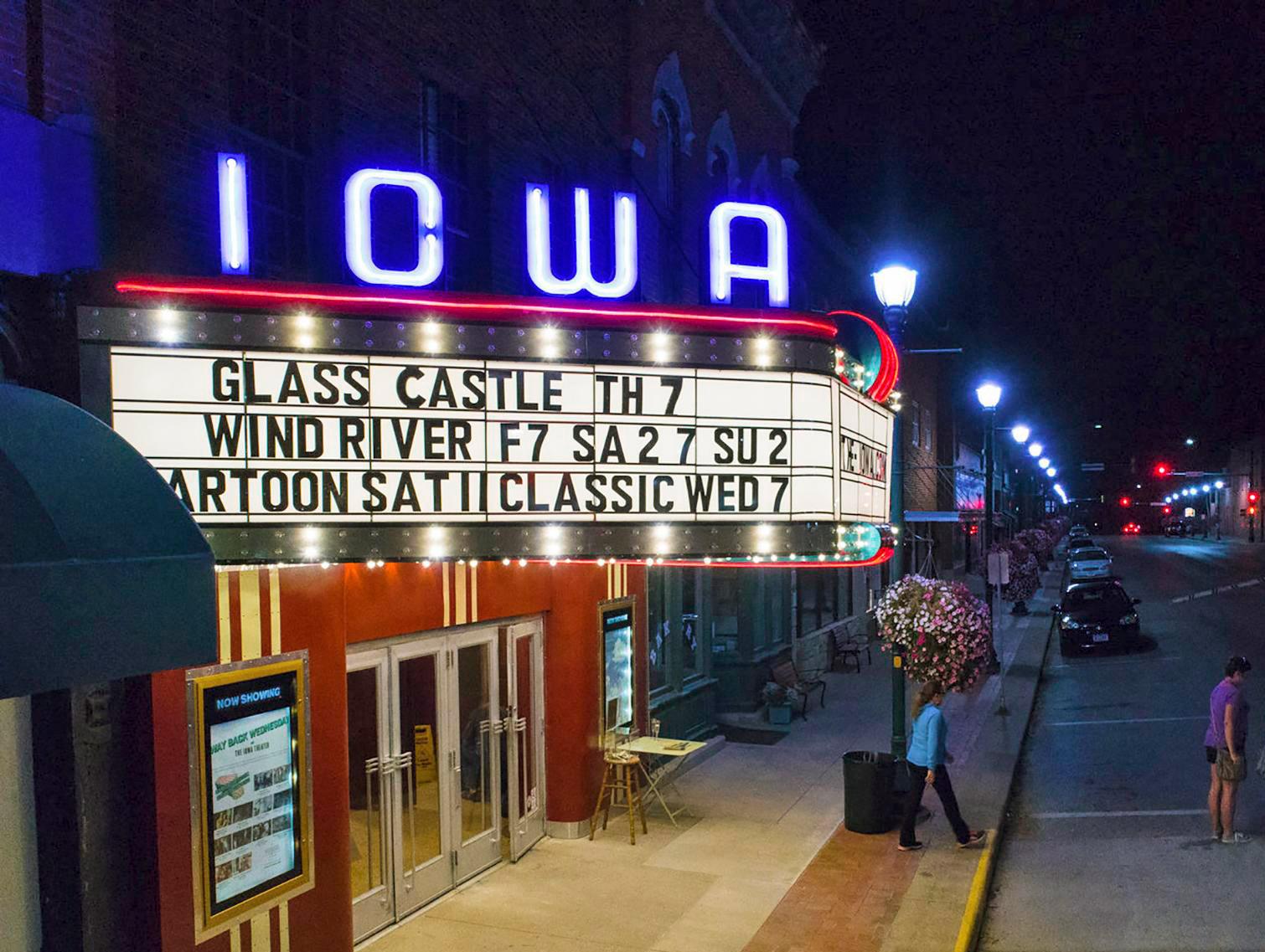 The Iowa Theater, Winterset, Iowa