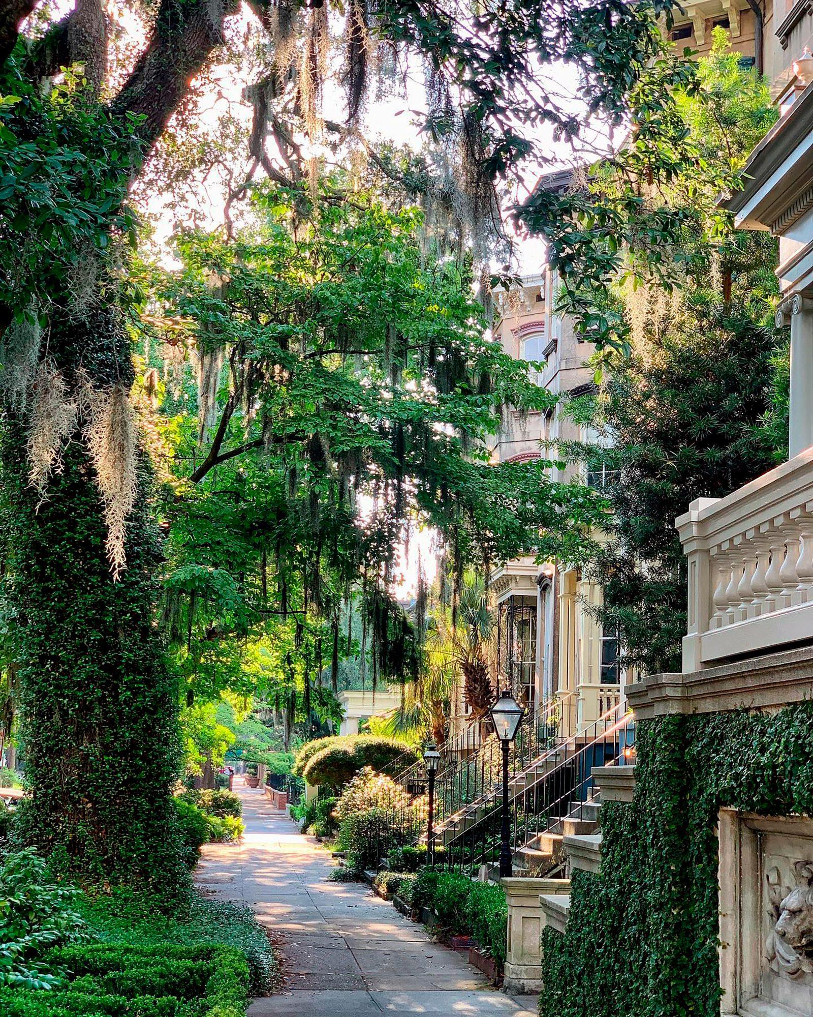 Warm-weather getaway to Savannah, Georgia