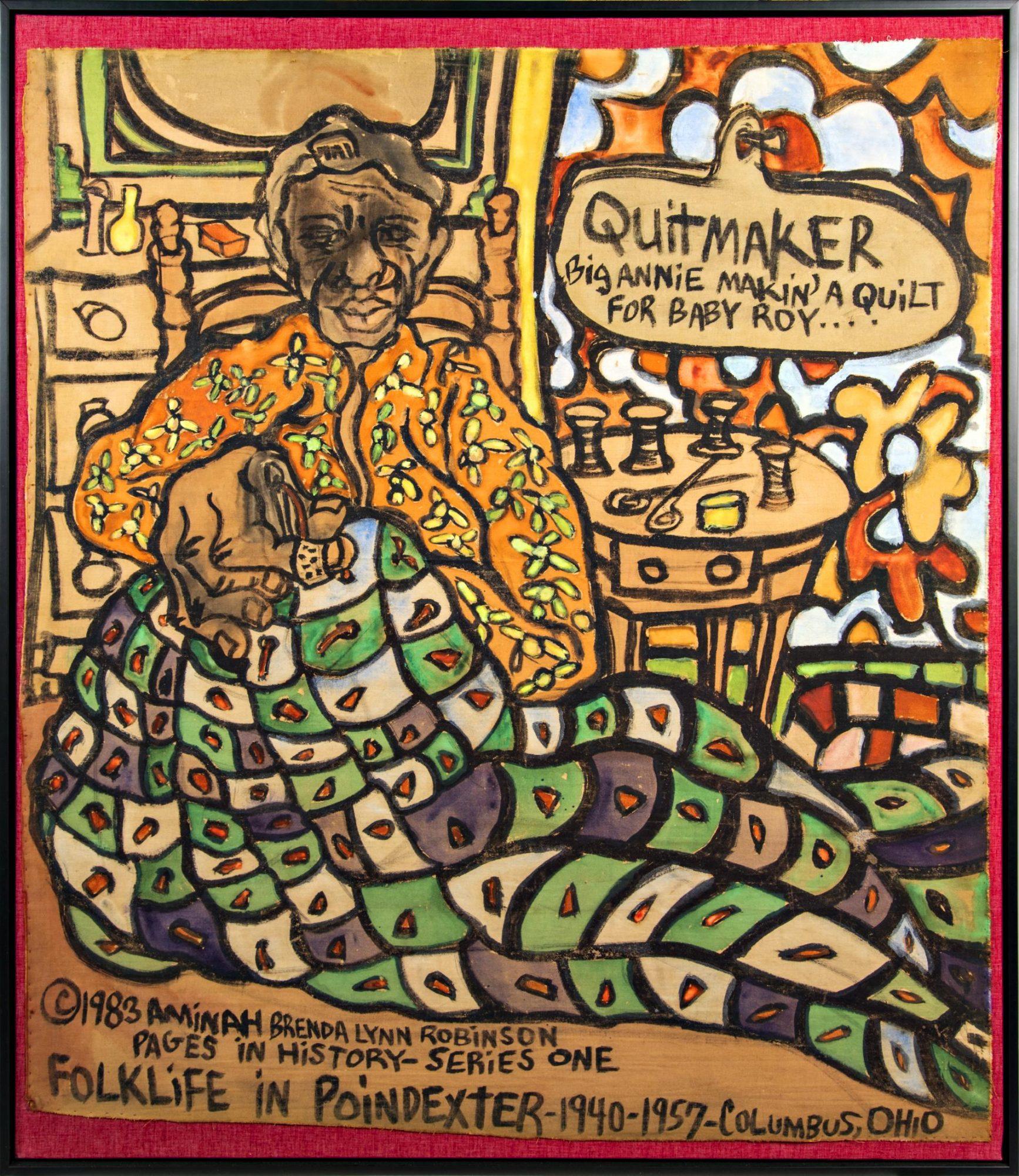 Aminah Robinson Big Annie