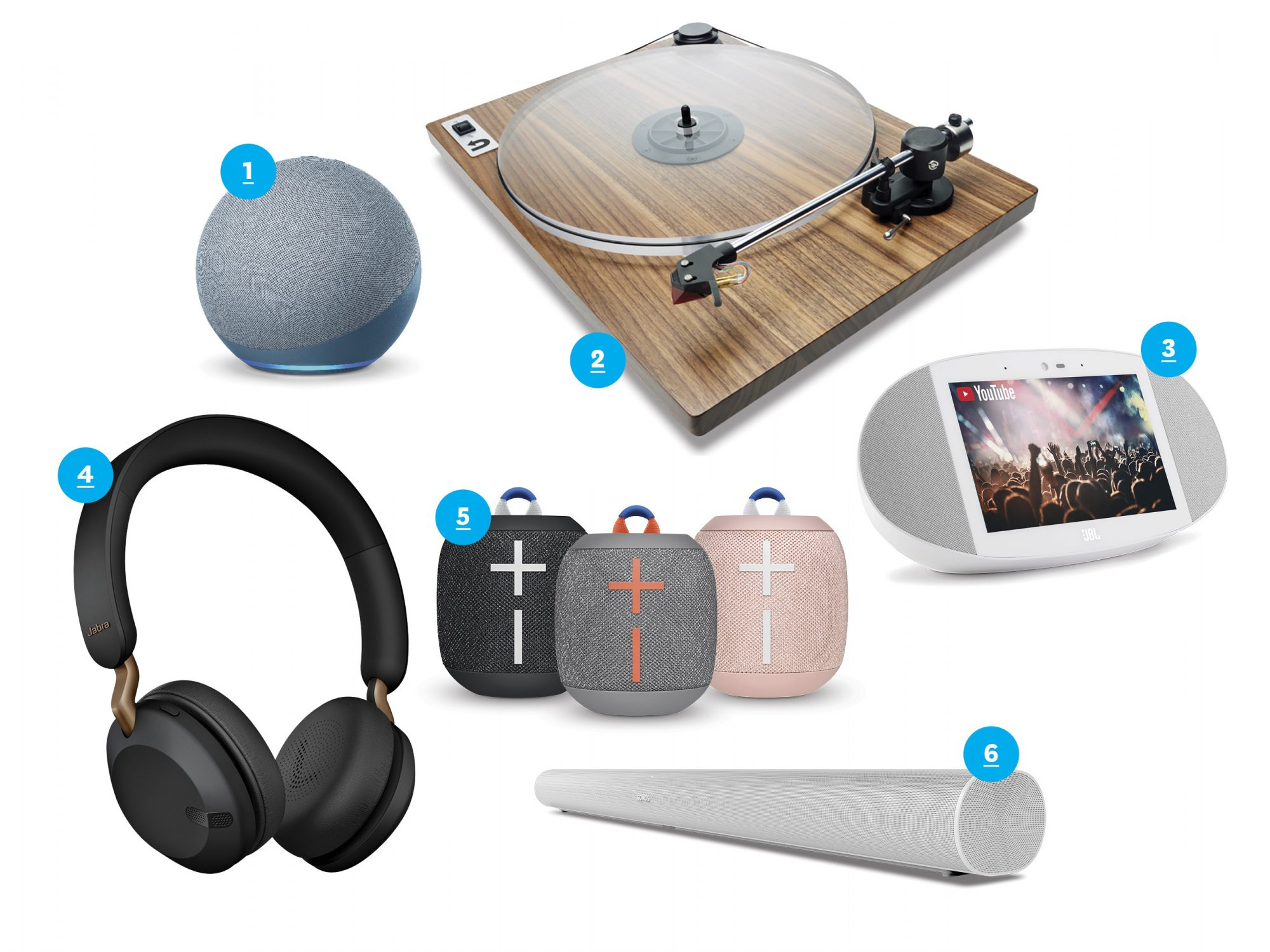 Home sound system products