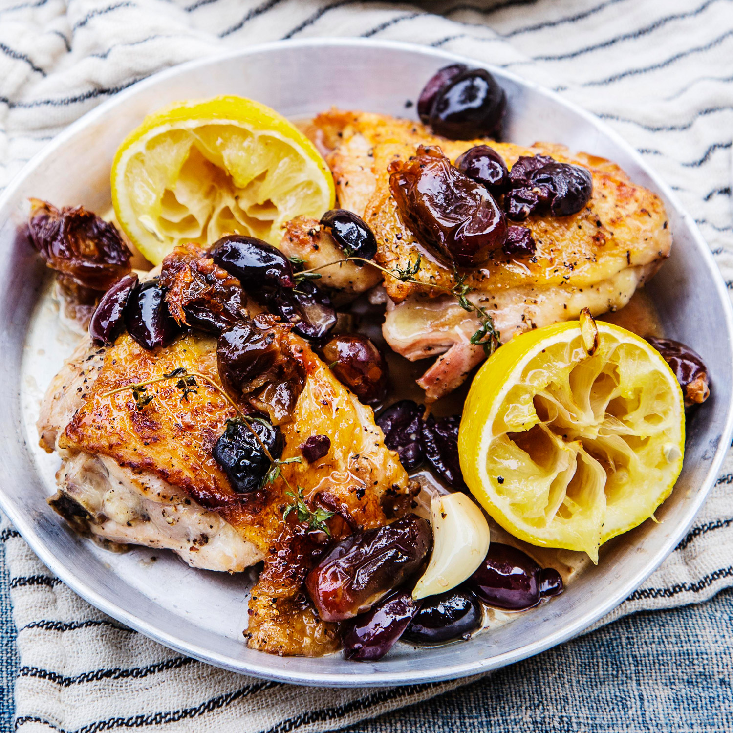 Chicken with Olives and Dates
