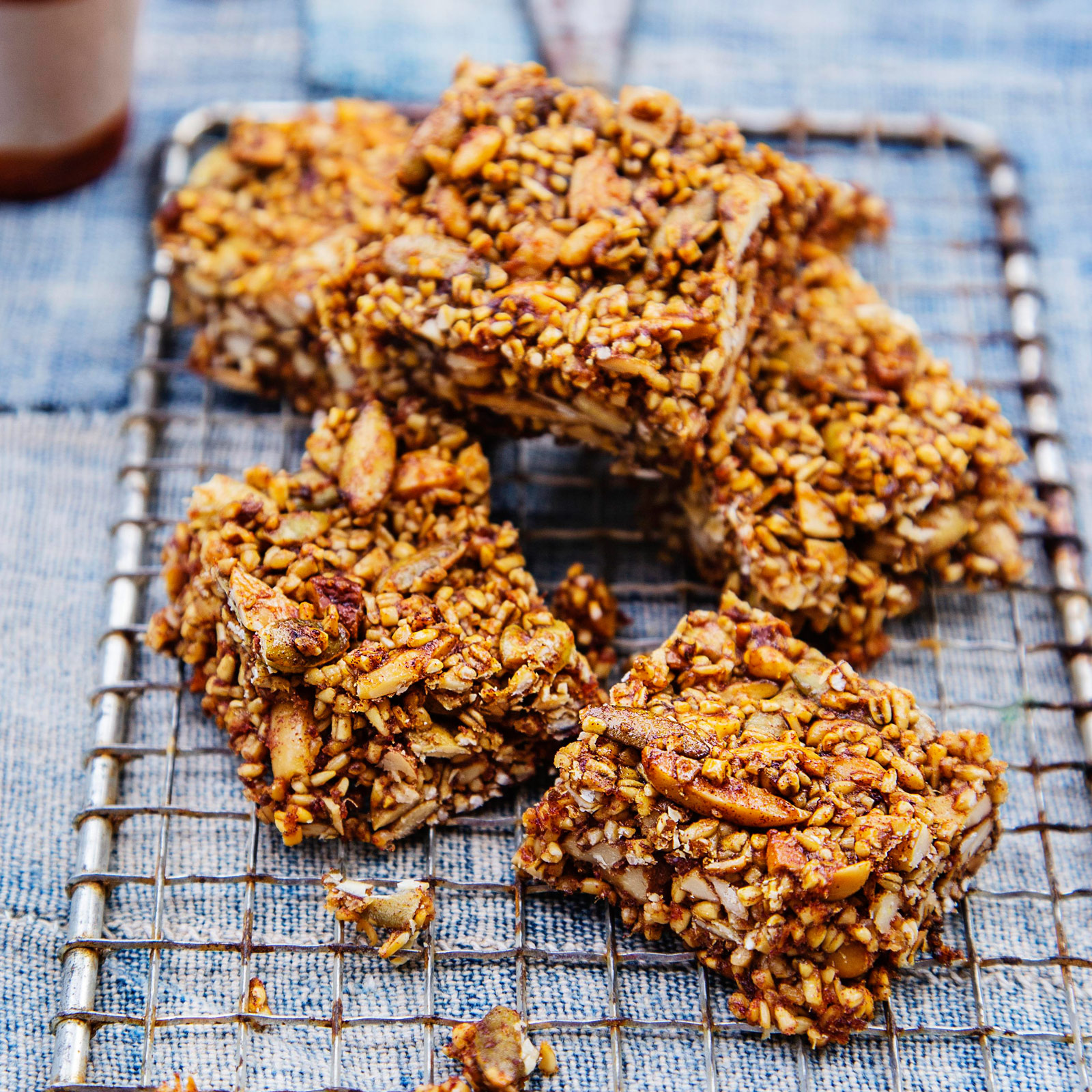 Date-and-Nut Energy Bars