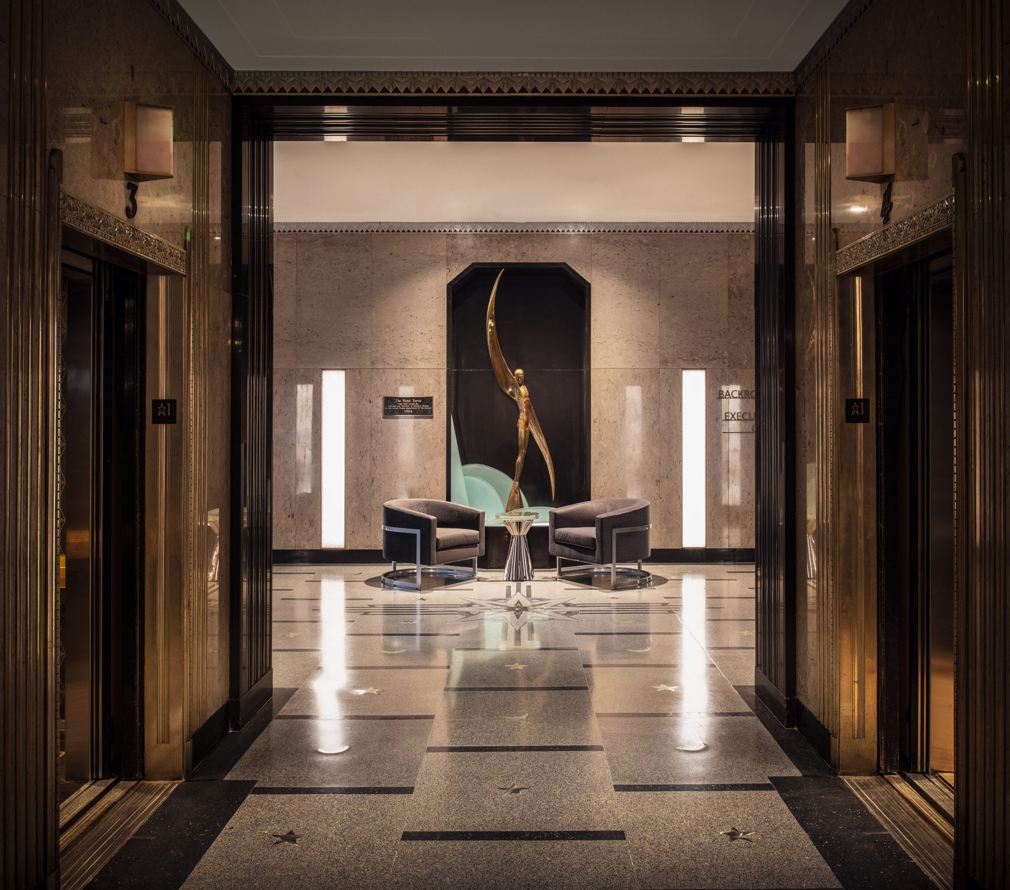 Rand Tower Lobby
