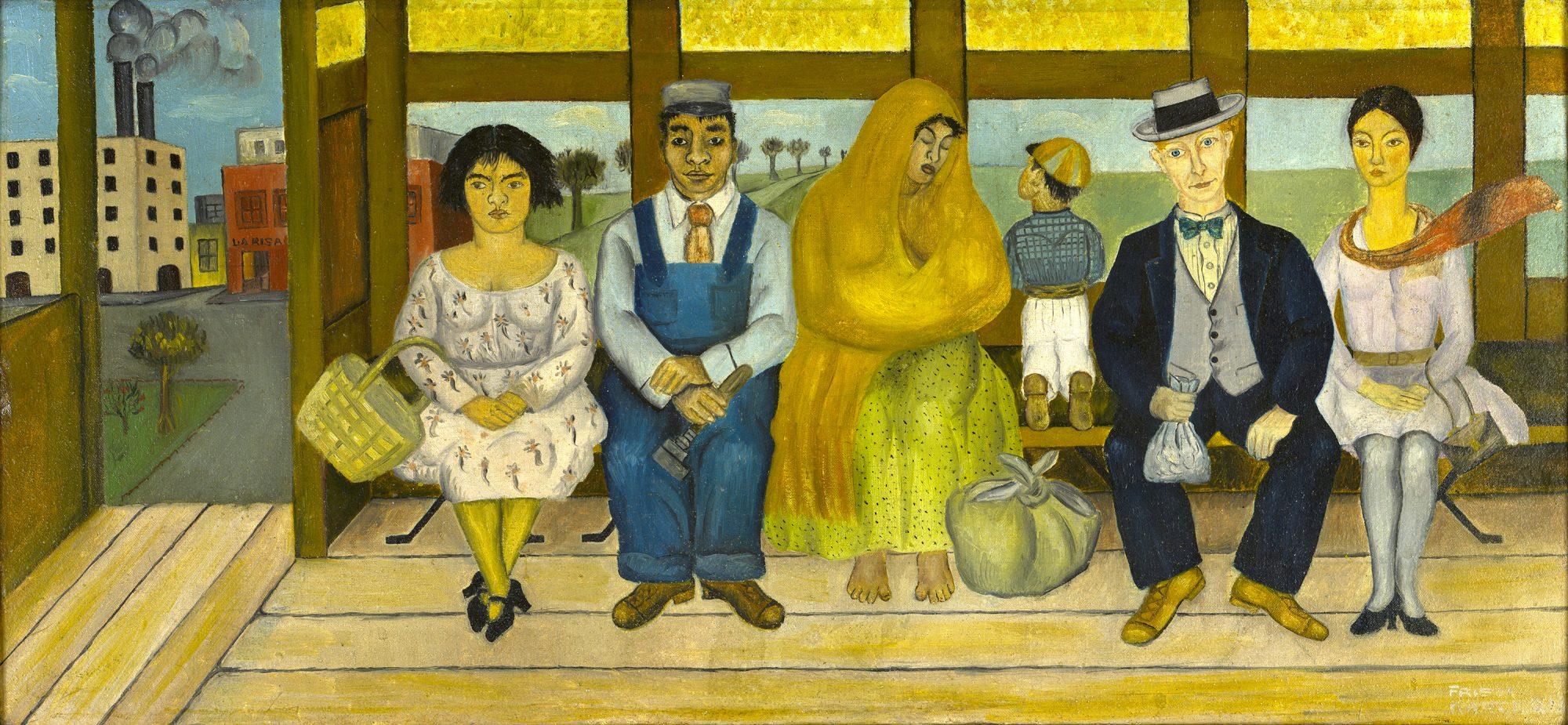 Frida Kahlo, The Bus