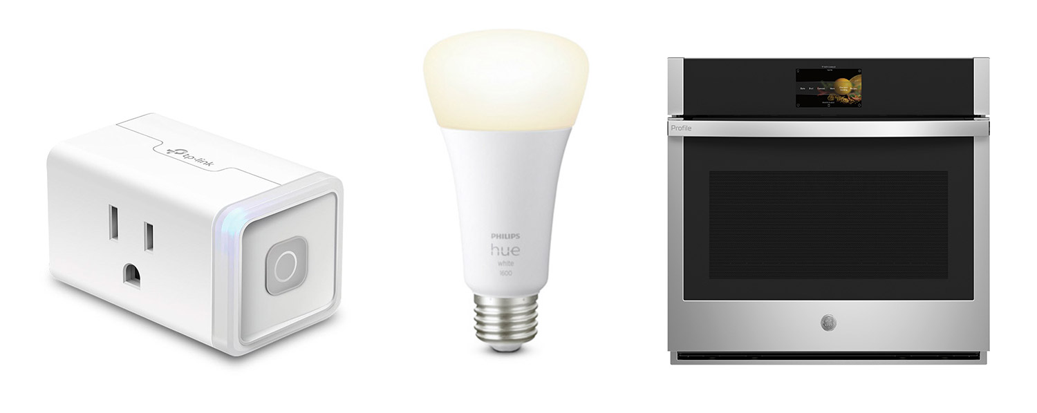 Kitchen outlets, bulbs and integrated tech