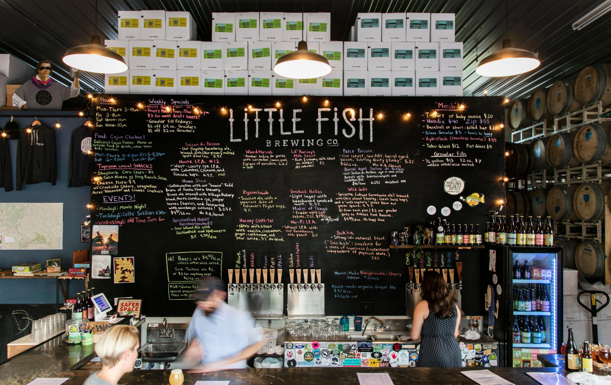 Little Fish Brewing Company Athens Ohio