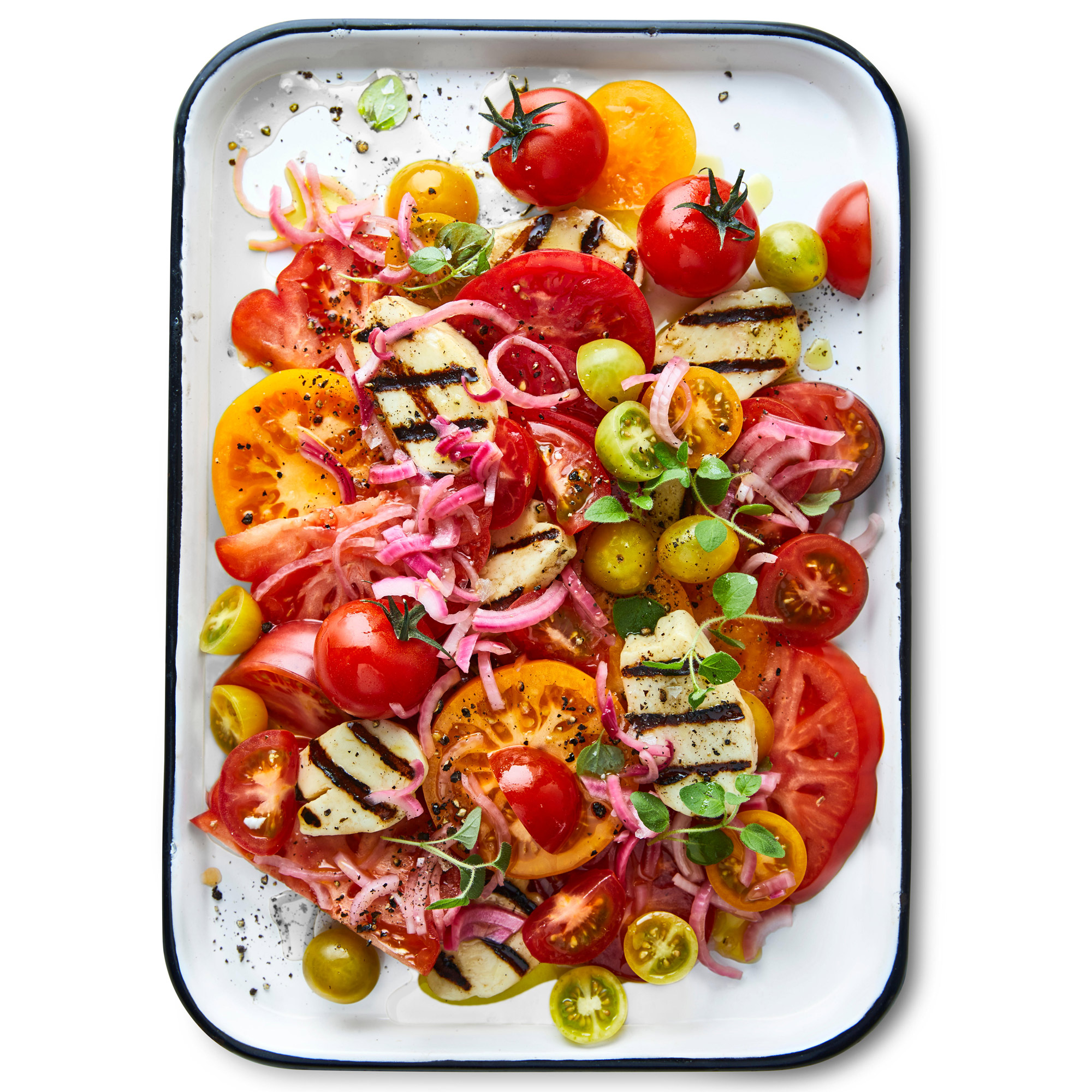 Greek to Me Tomato Salad