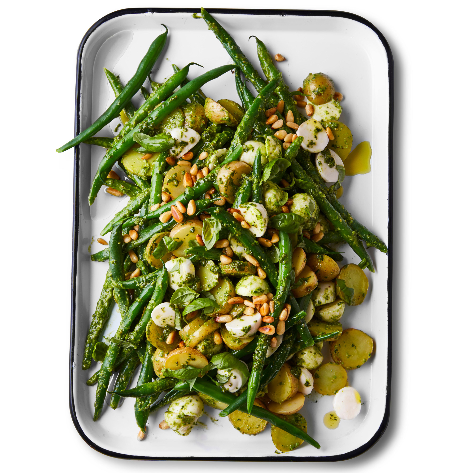 Seeing Green Potato Salad