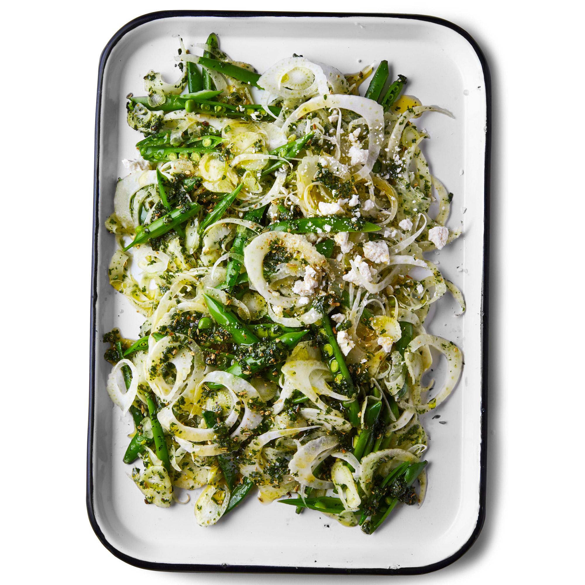 Roasted Asparagus and Gnocchi