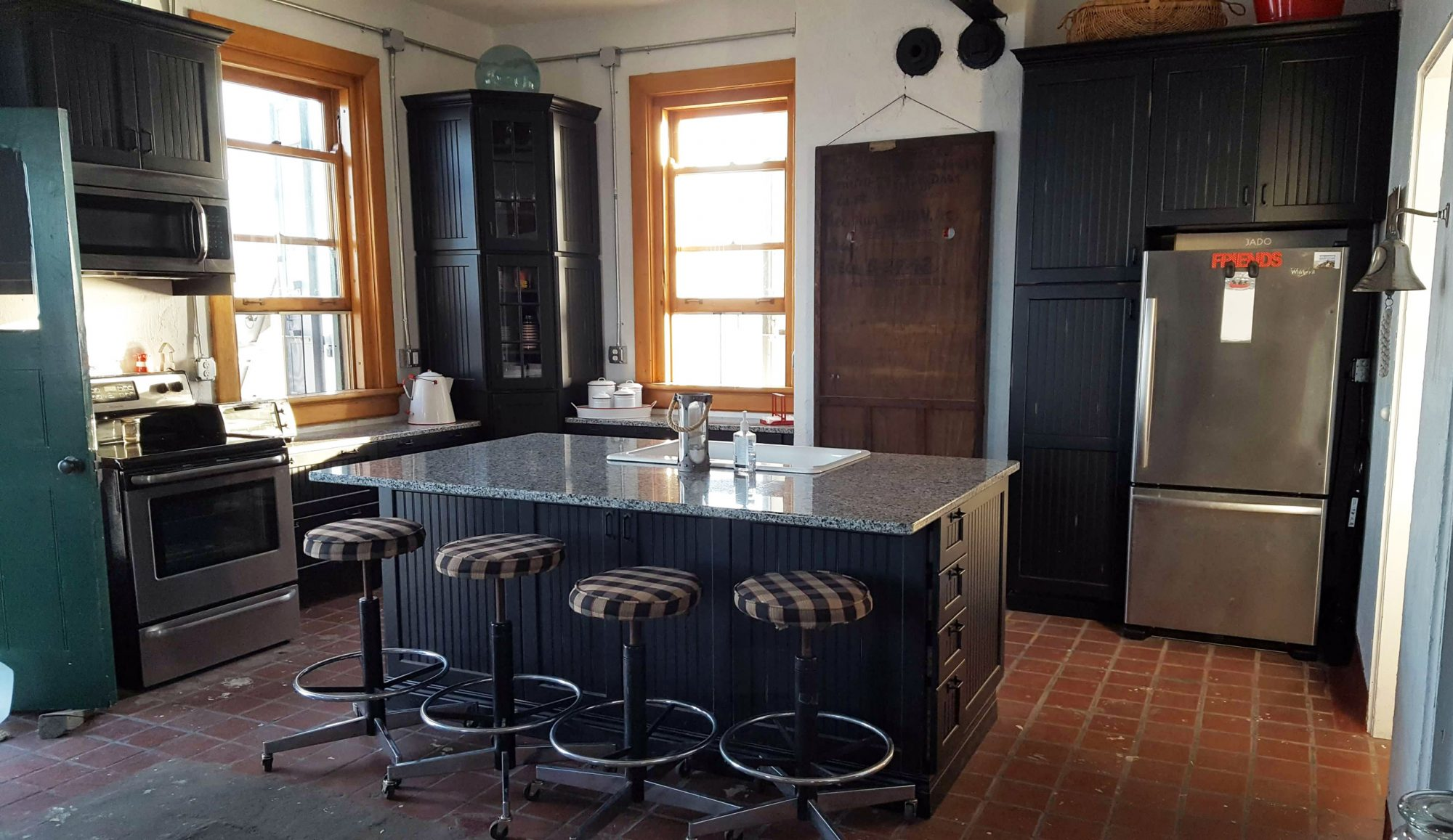 Ohio lighthouse kitchen