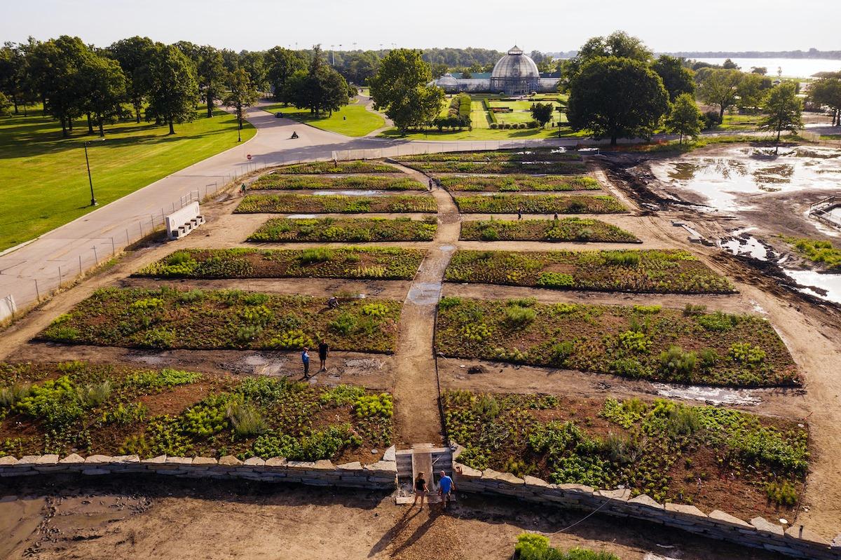 Oudolf Garden Detroit